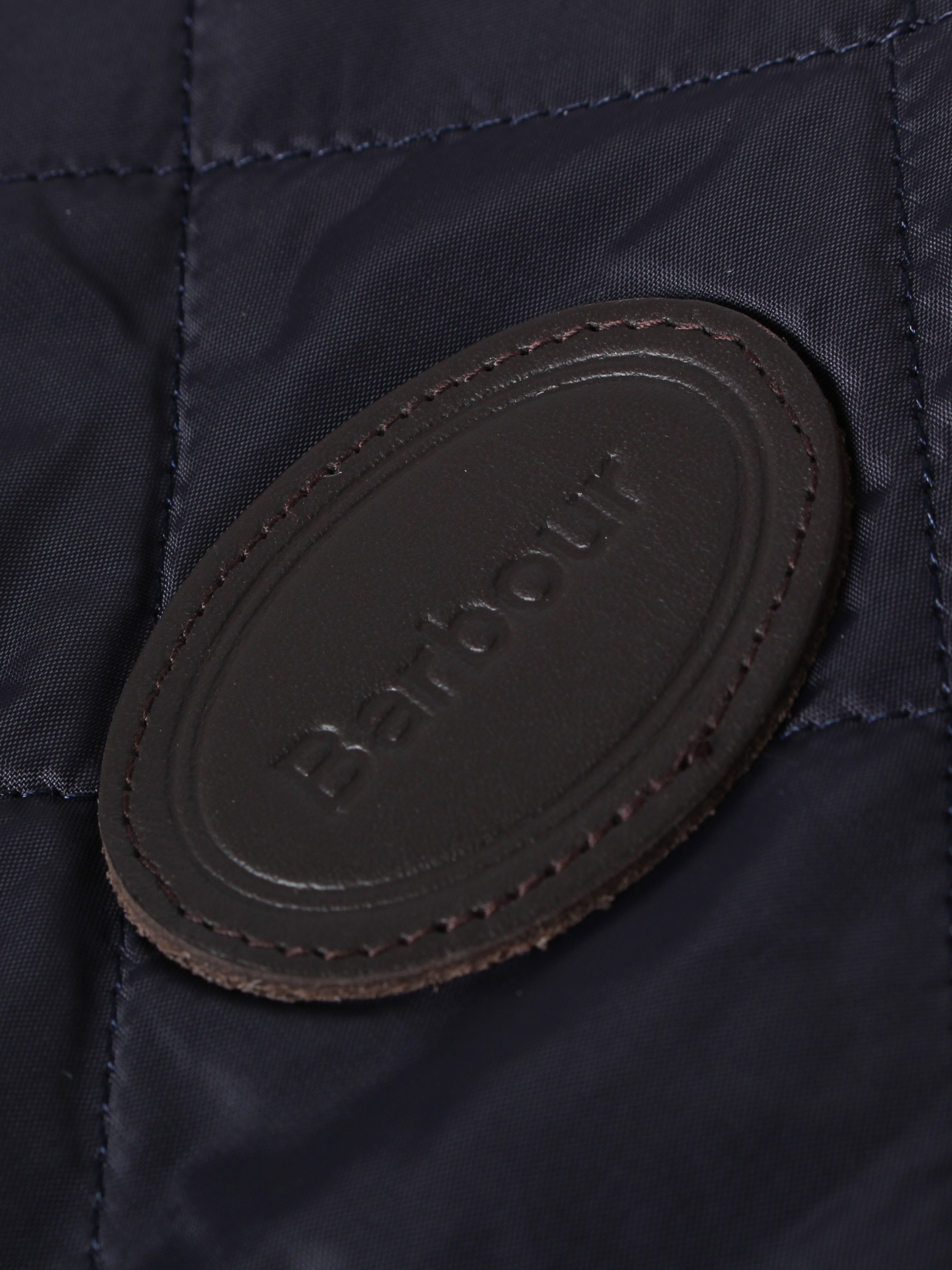 Barbour Quilted Dog Coat - Navy