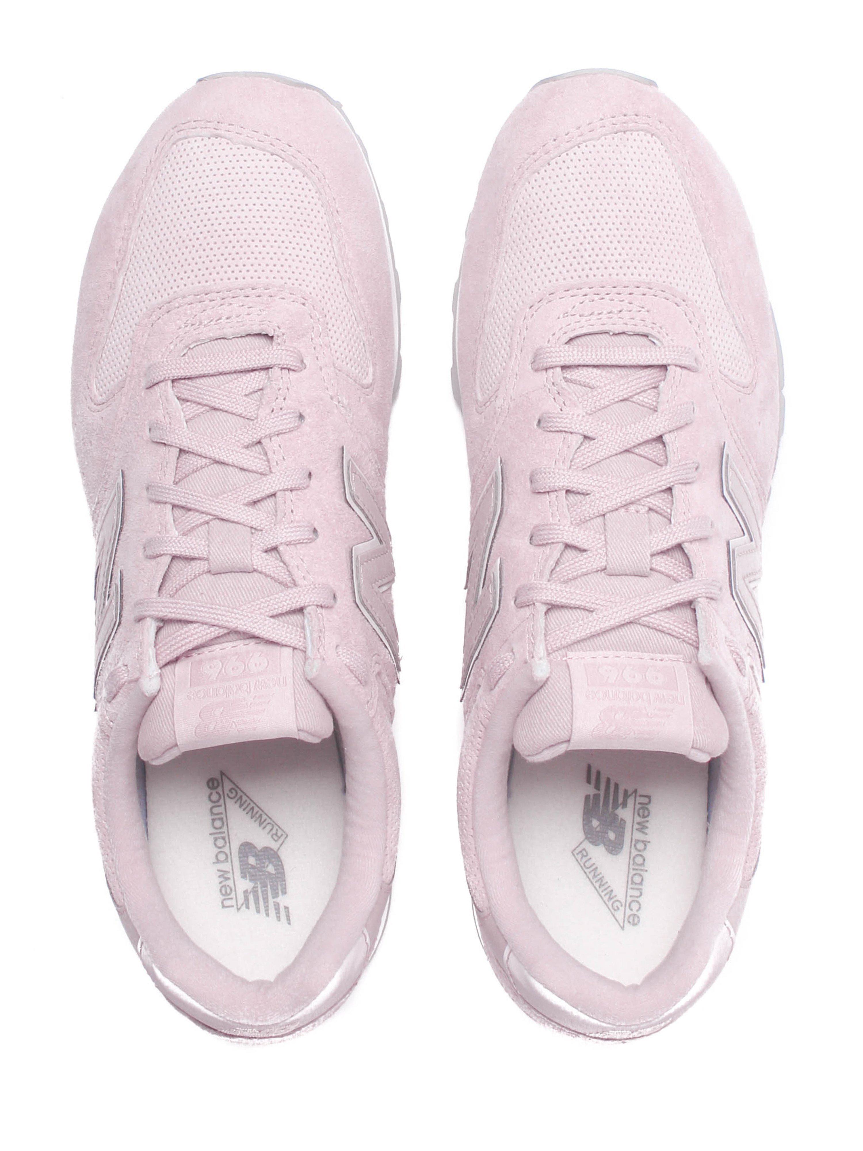 New Balance Women's 996 Trainer's - Pink Suede