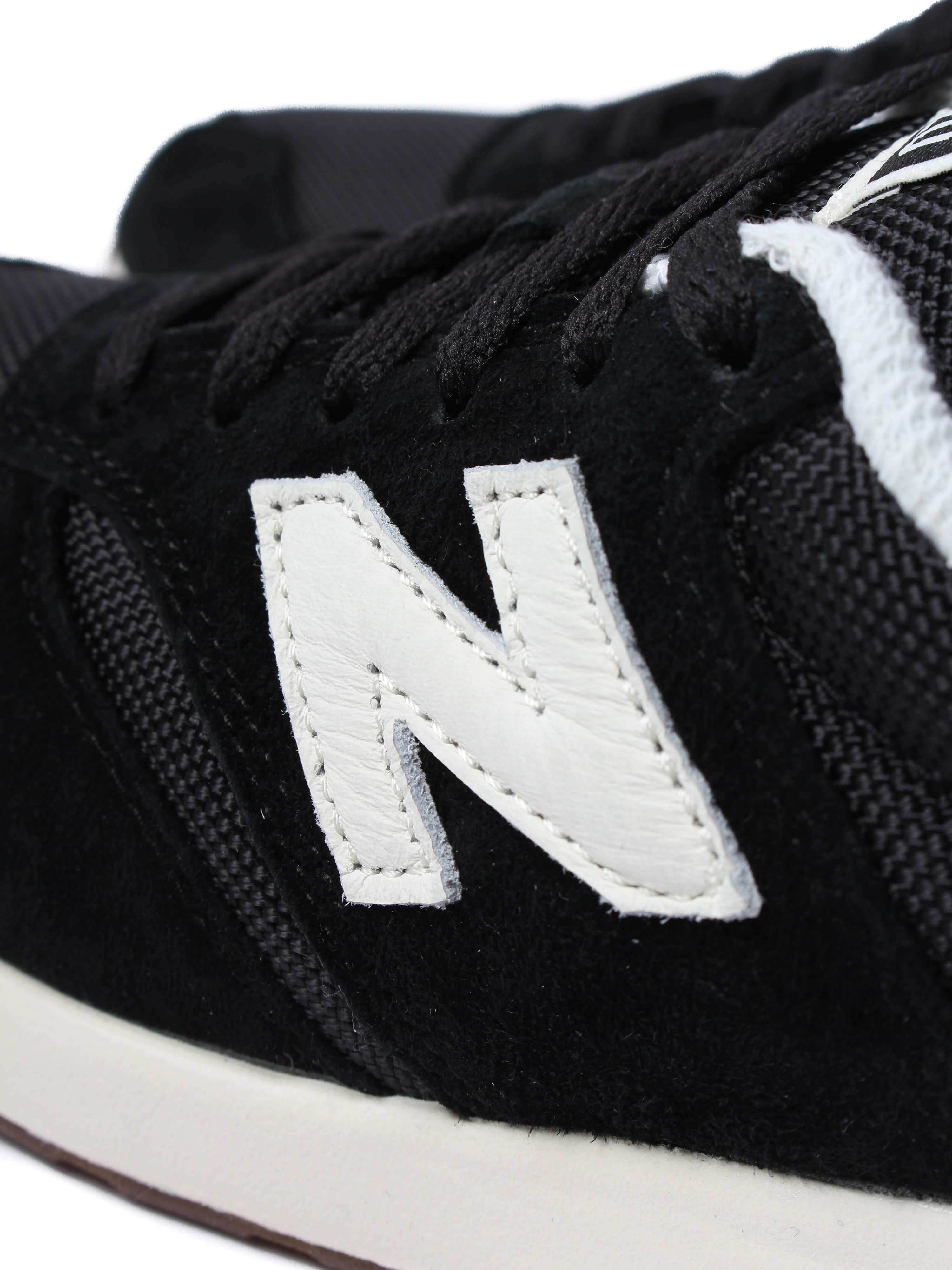 New Balance Women's 420 Trainers - Black Suede