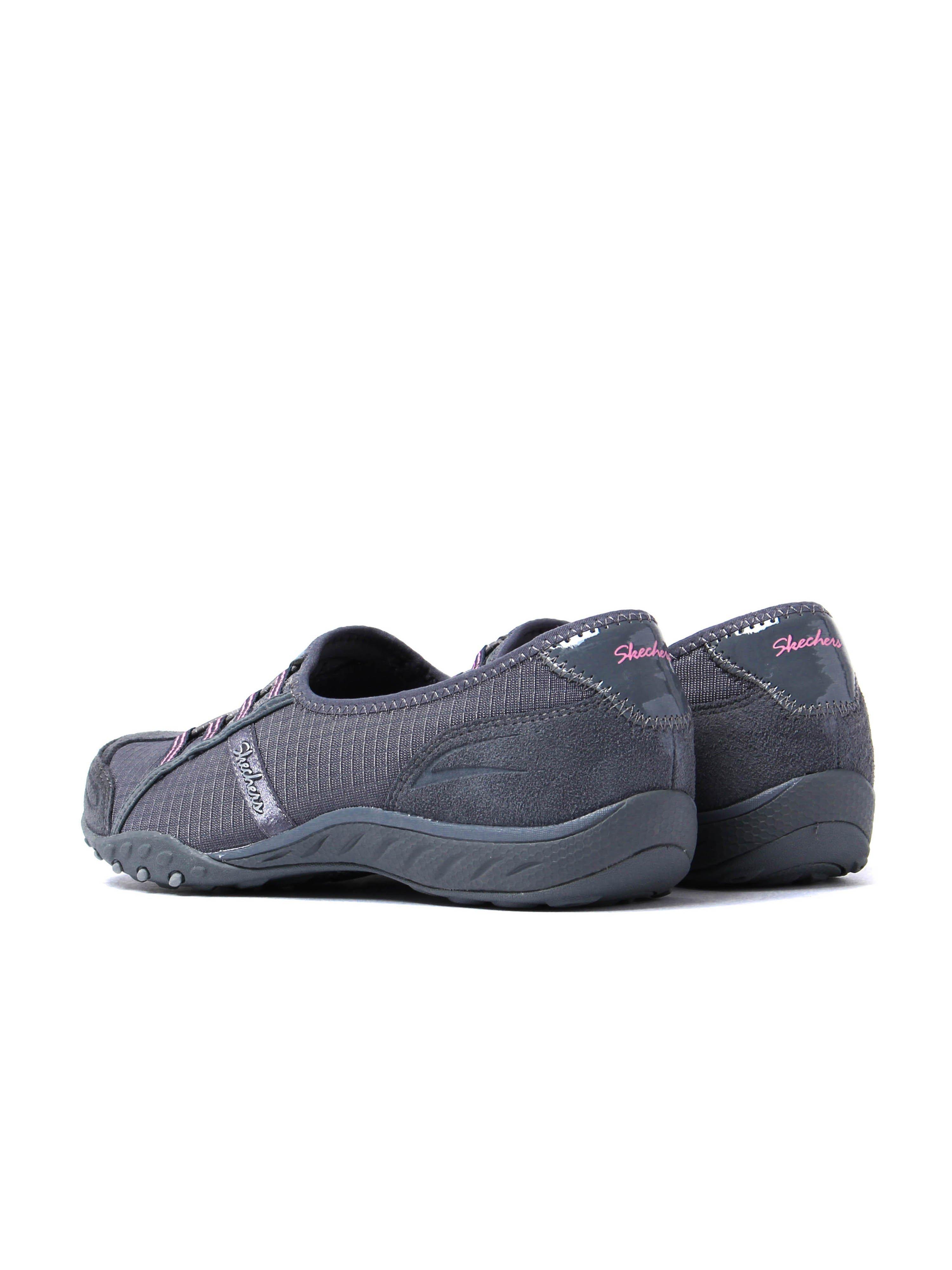 Skechers Women's Breathe Easy Allure Trainers - Charcoal