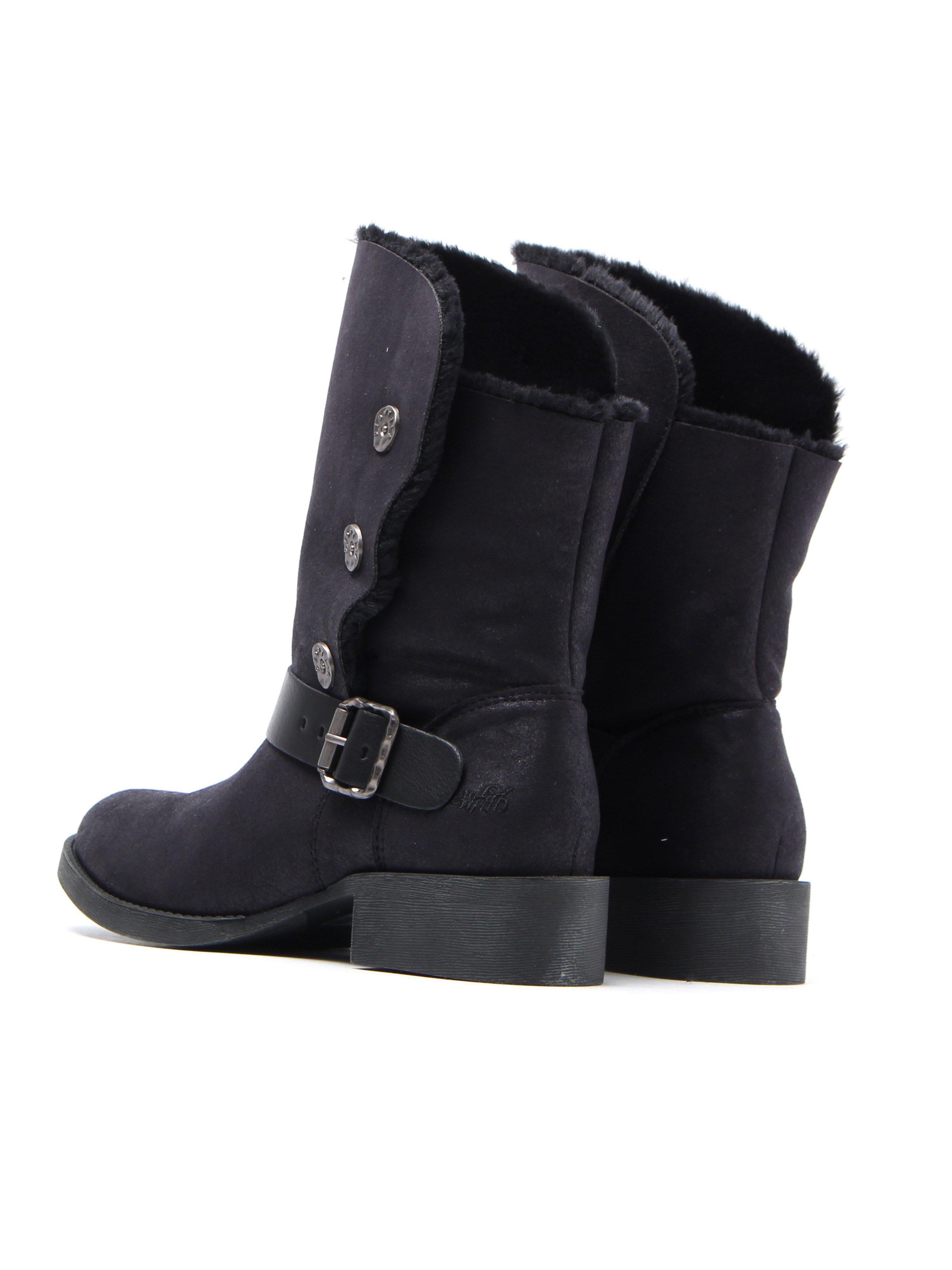 Blowfish Women's Katti SHR Mid Boots - Black