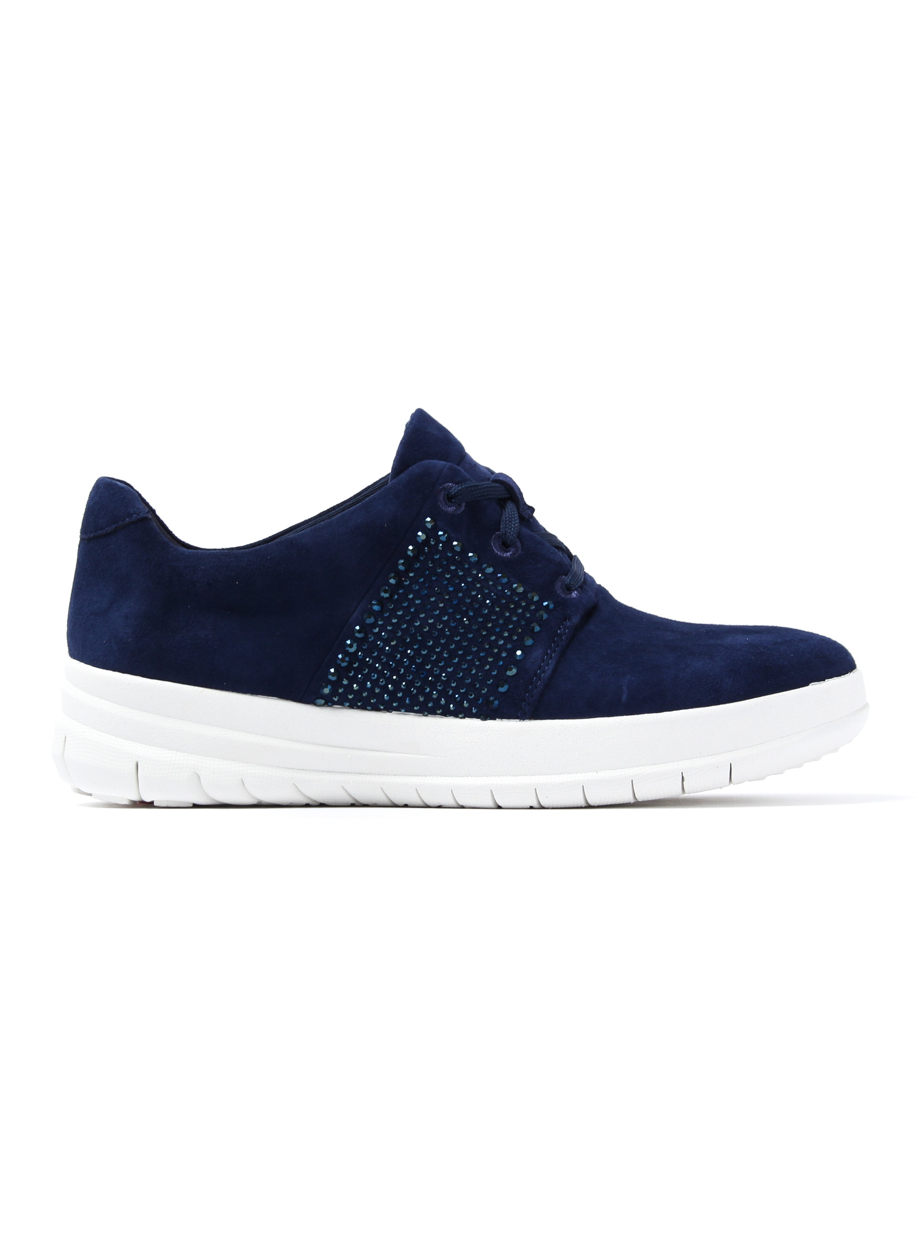 FitFlop Women's Sporty-Pop X-Crystal Trainers - Midnight Navy