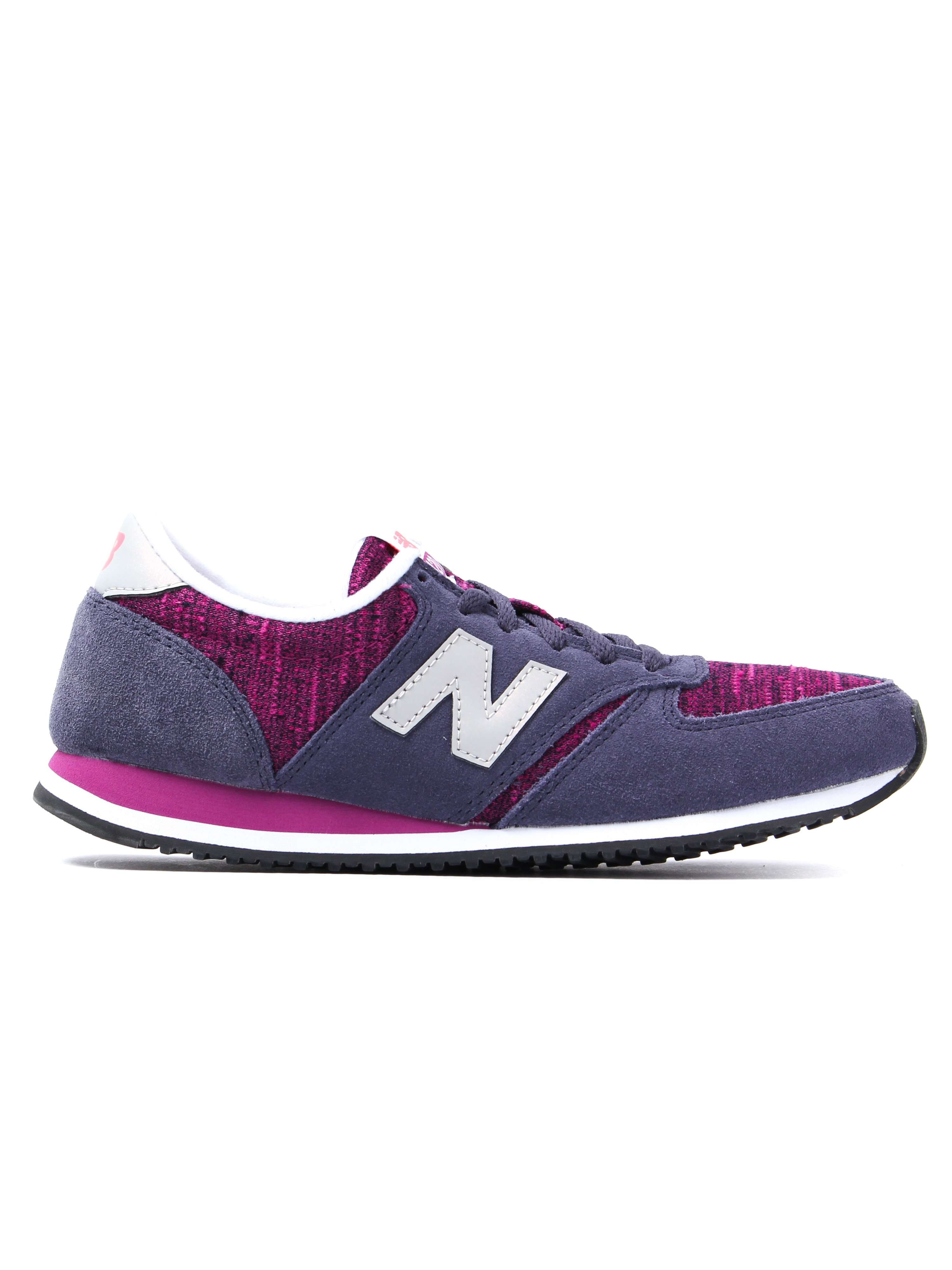 New Balance Women's 420 Low Top Trainers - Navy & Burgundy