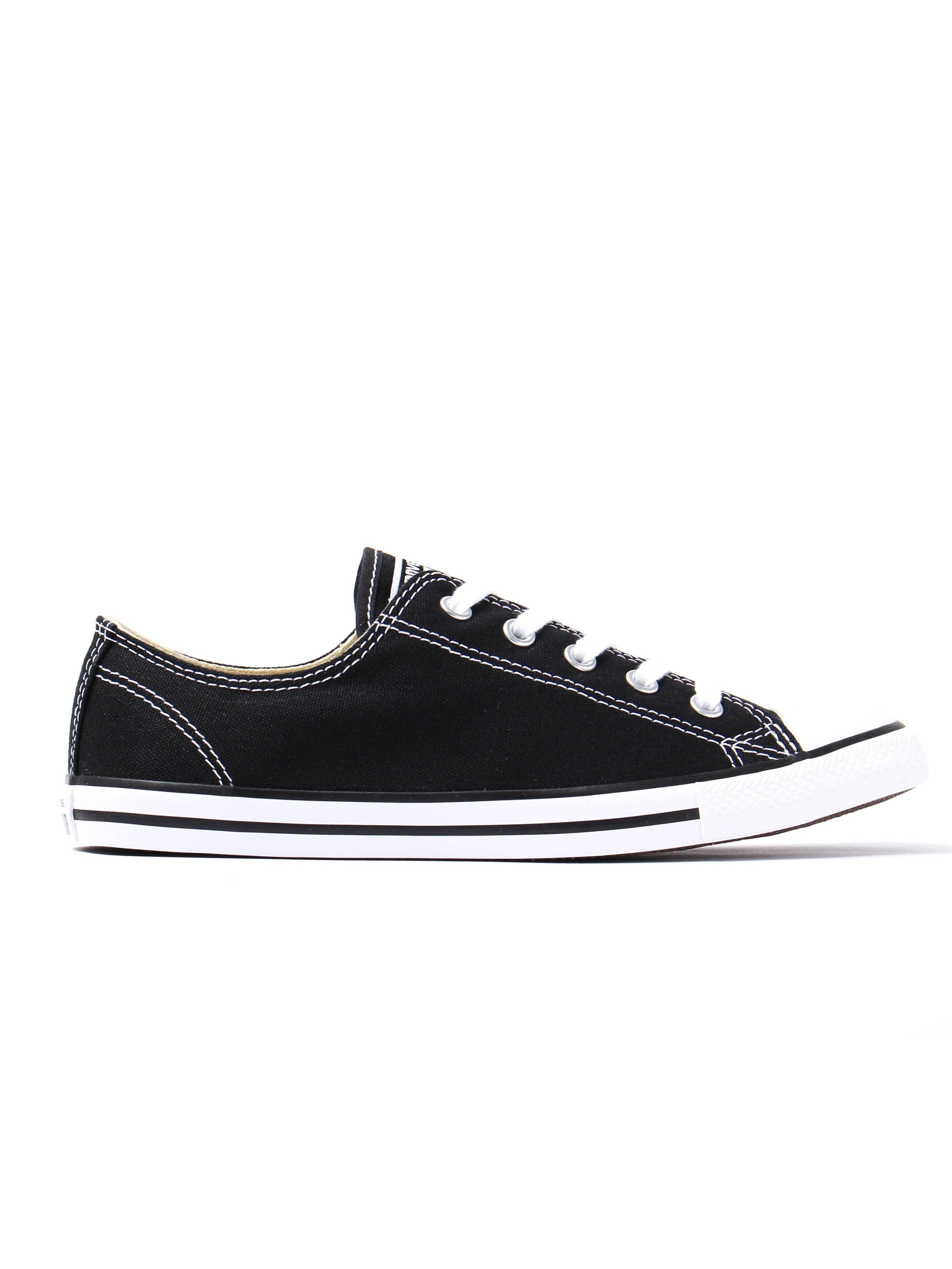 converse womens chuck taylor all star dainty trainers black