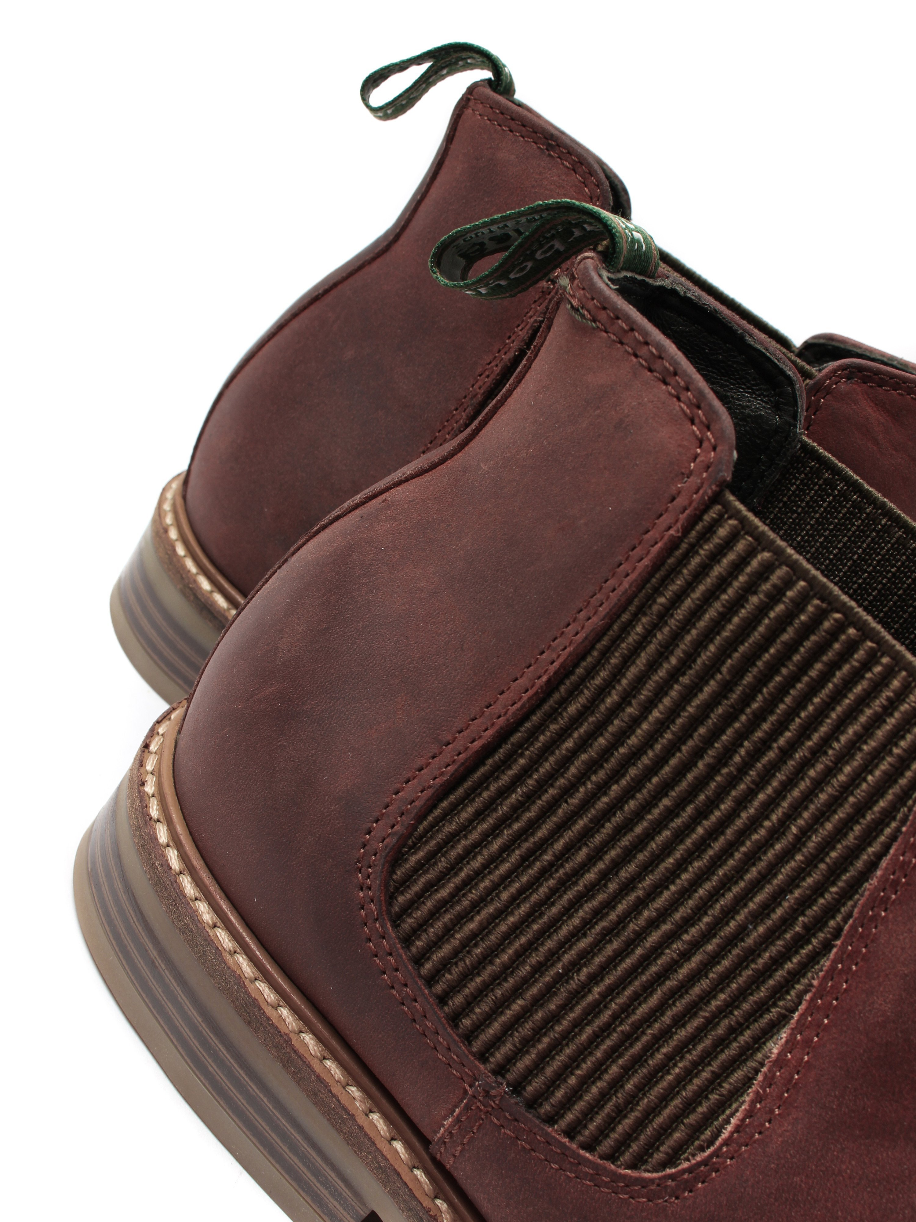 Barbour Men's Penshaw Leather Chelsea Boots - Timber Tan