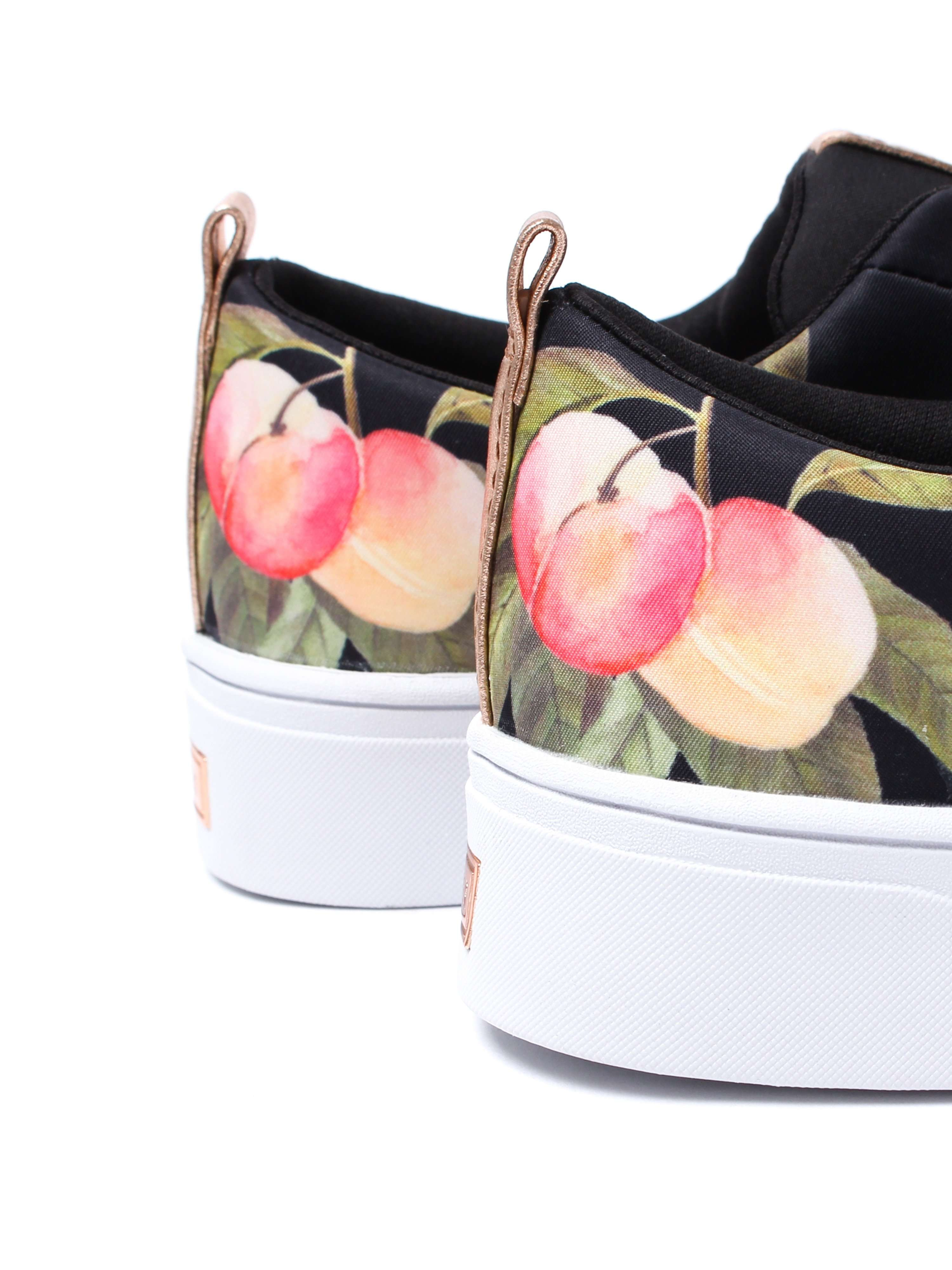 Ted Baker Women's Ahfira Trainers - Black Peach Blossom