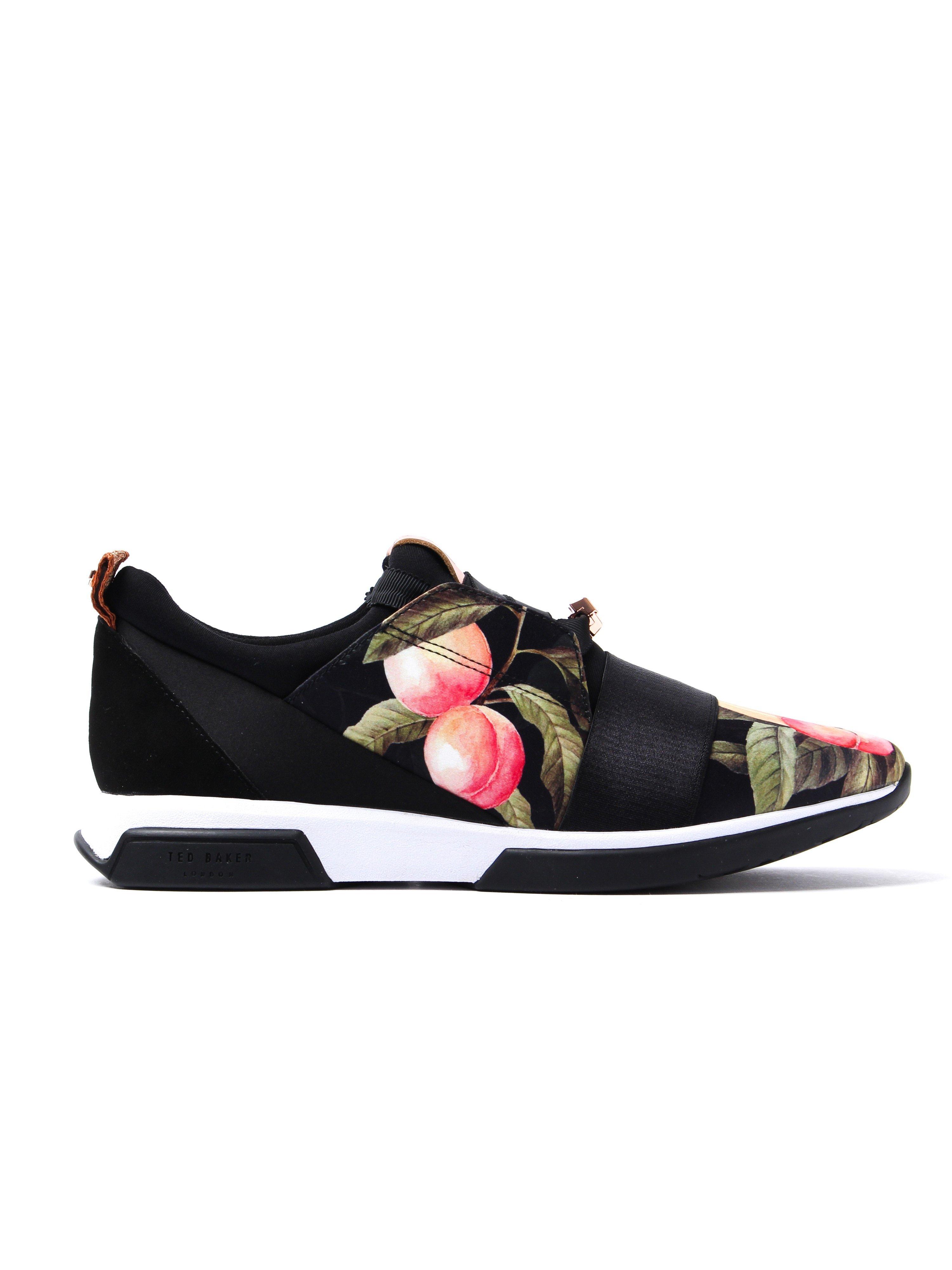 Ted Baker Women's Cepap Trainers - Black Peach Blossom