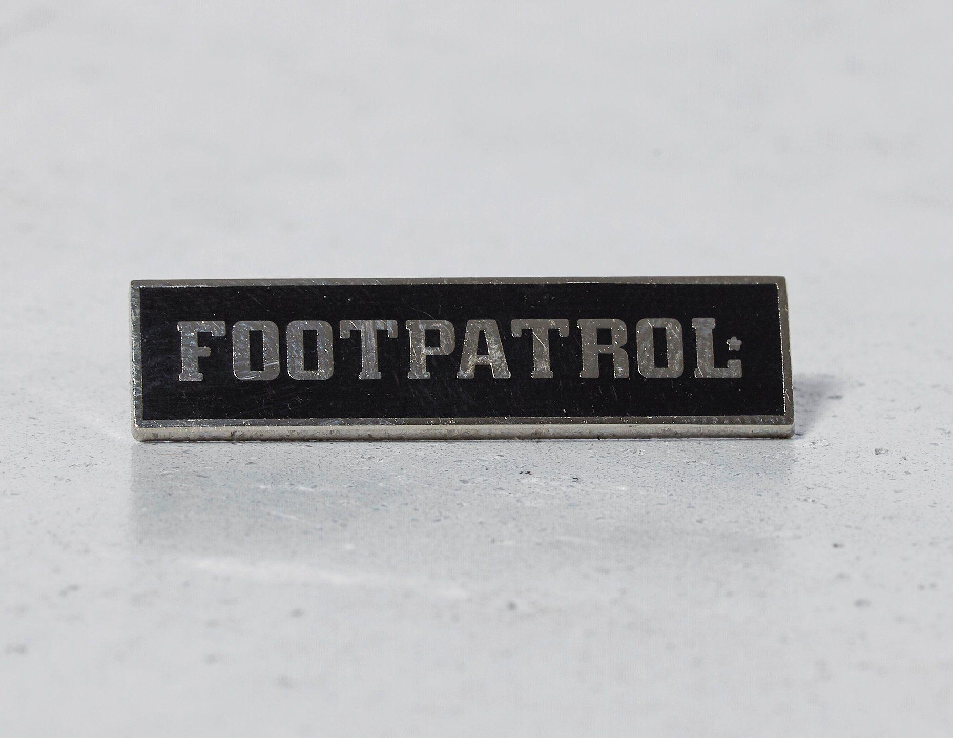 Pintrill for Footpatrol Bar Logo Pin Badge
