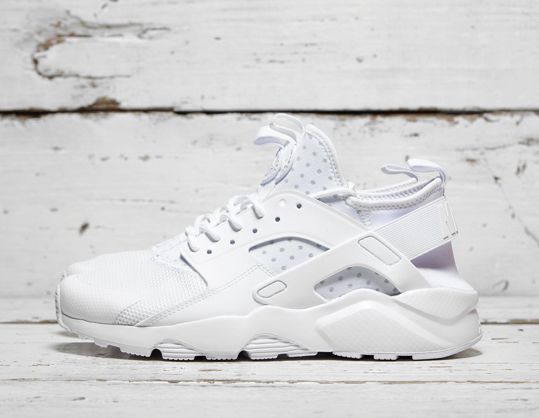 Mens Nike Huarache Ultra Breathe - White, White - photo 1/1