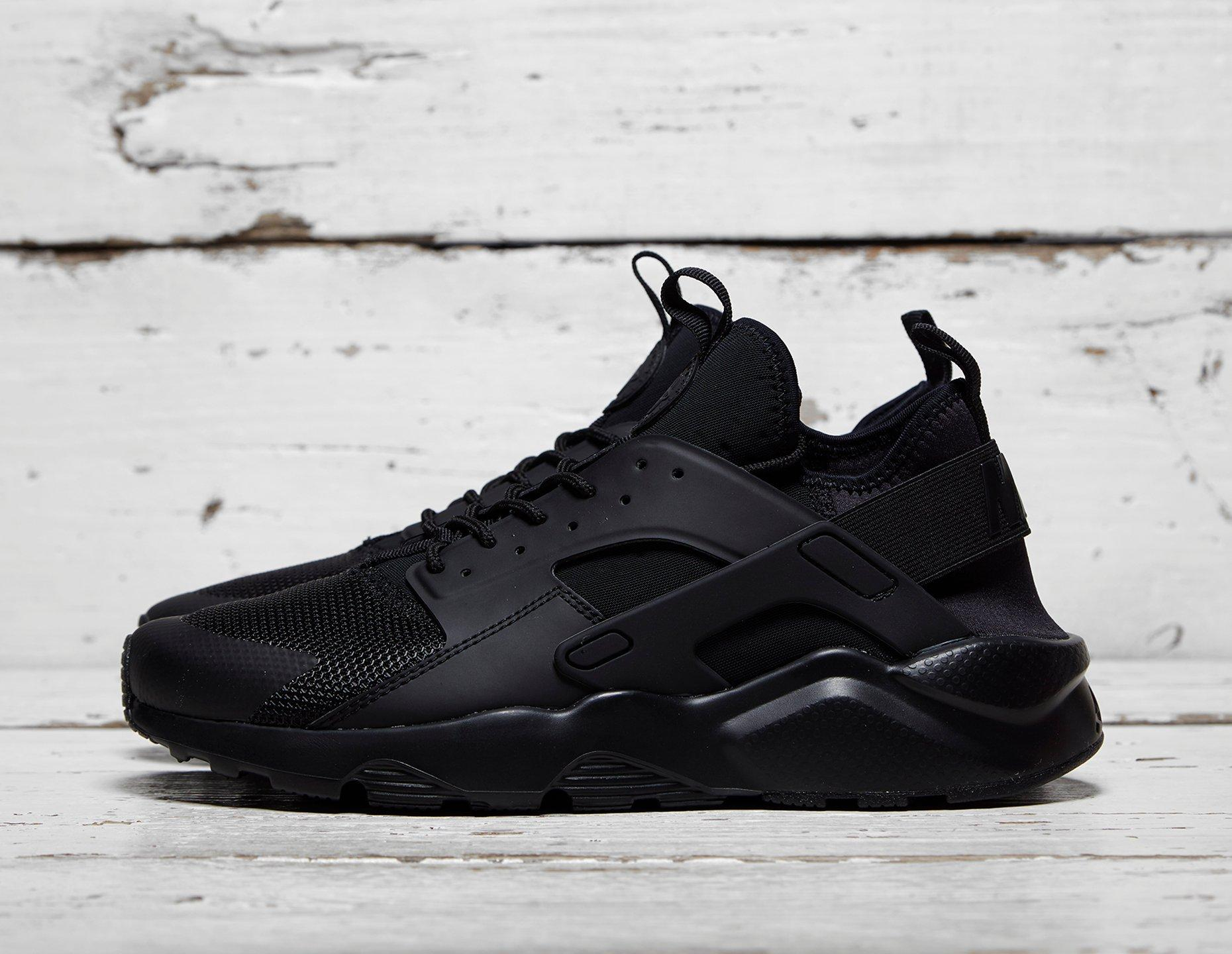 Mens Nike Huarache Ultra Breathe - Black, Black - photo 1/1