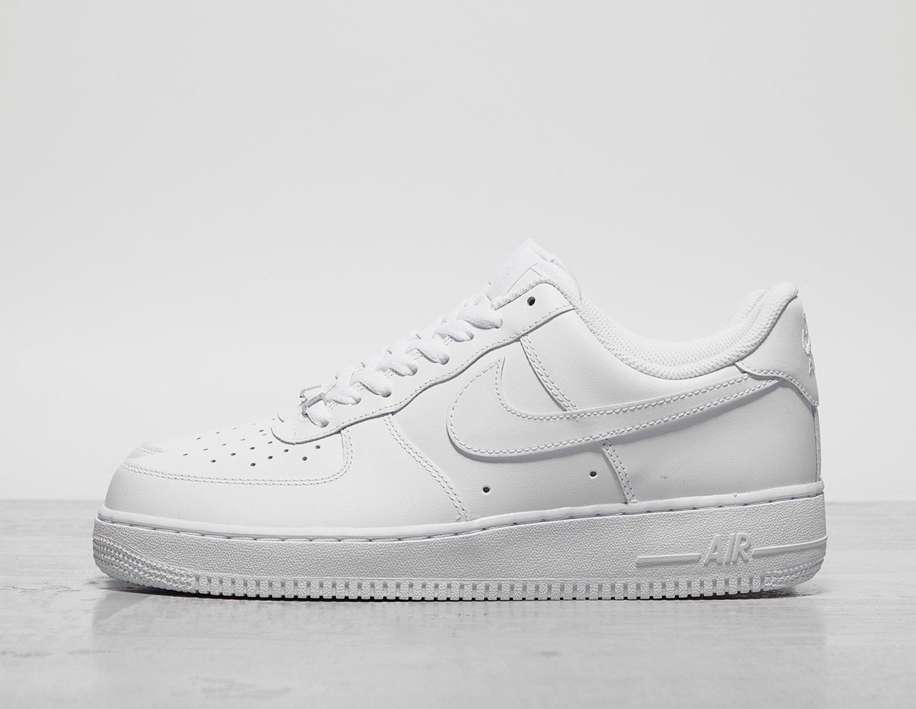 Mens Nike Air Force 1 Lo - White, White - photo 1/1