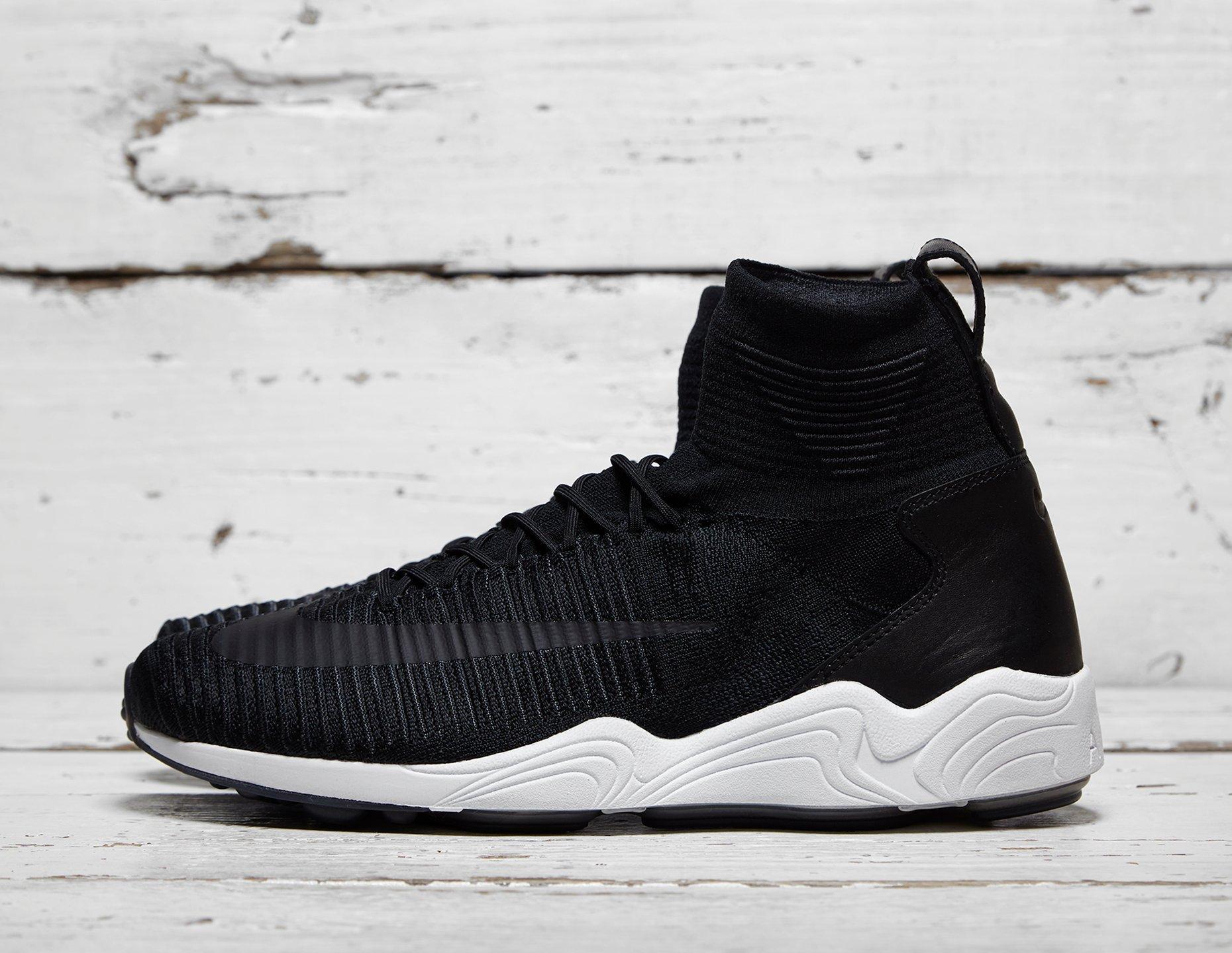 Mens Nike Zoom Mercurial Flyknit - Black, Black - photo 1/1