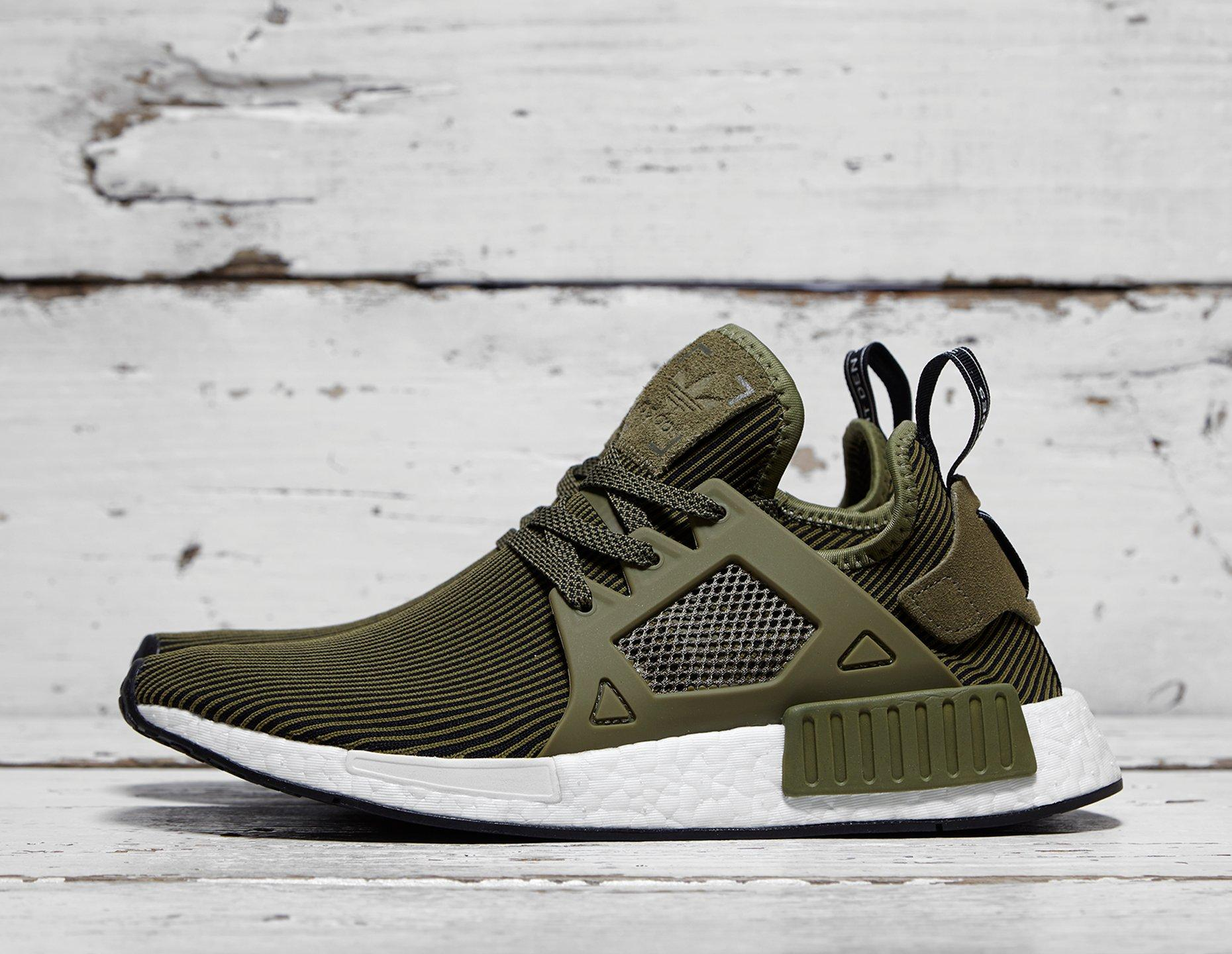 Mens <strong>adidas</strong> Originals <strong>NMD</strong> <strong>XR1</strong> - Green, Green - photo 1/1