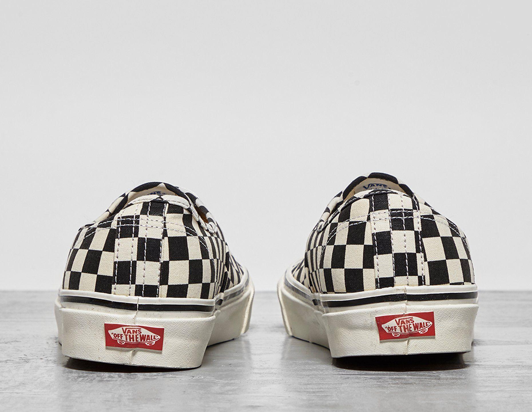 Vans Anaheim Authentic Checkerboard