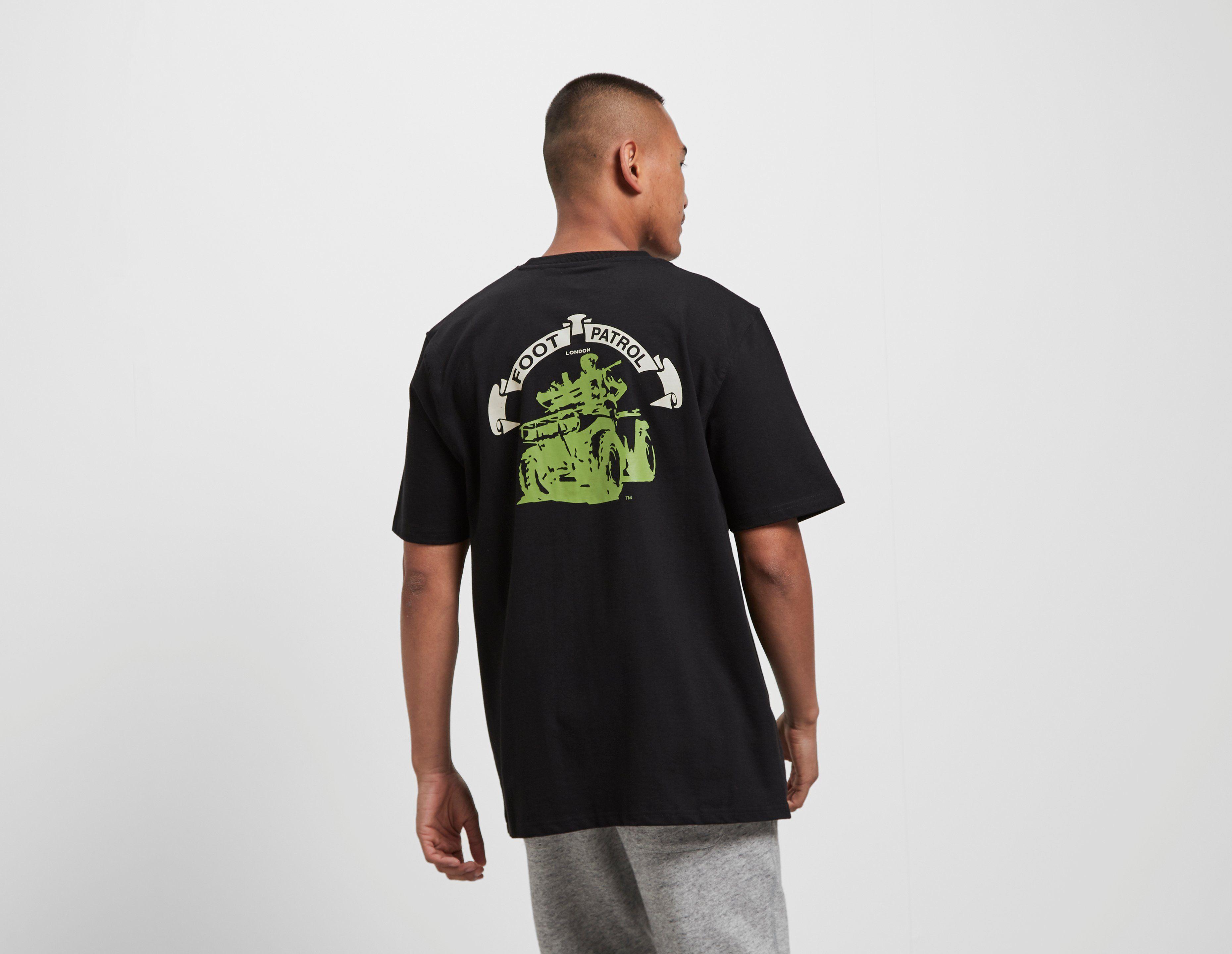 Footpatrol Quad Gasmask T-Shirt