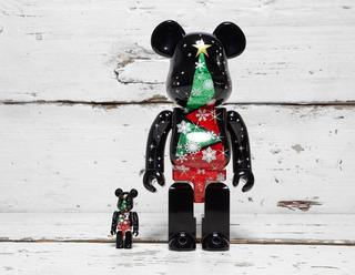 Christmas BE@RBRICK 100% & 400% Set