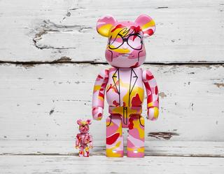 x Andy Warhol Foundation Be@rbrick 400% + 100%