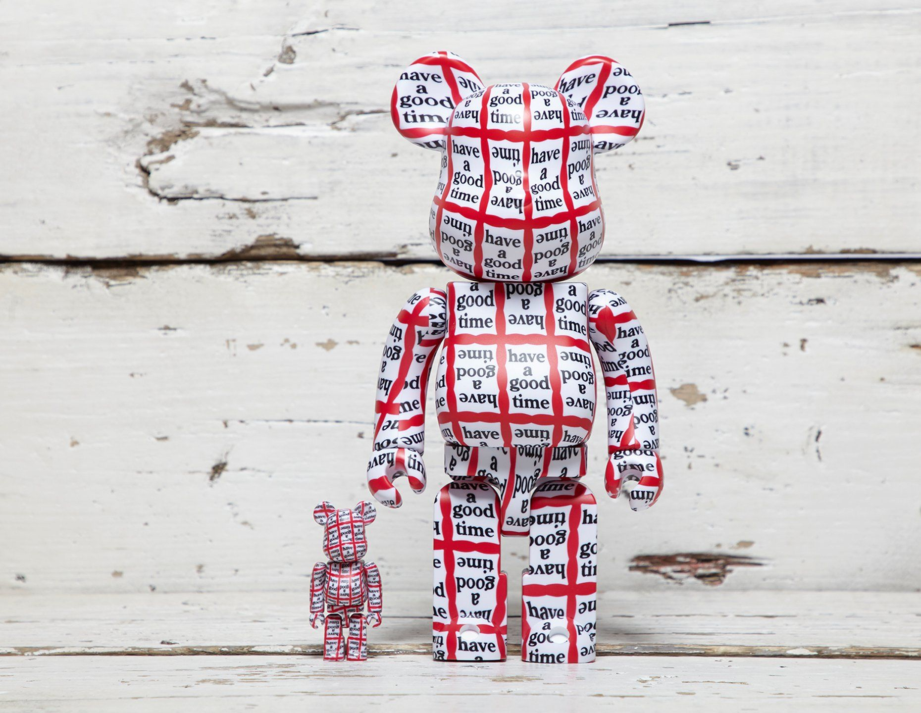 Medicom x have a good time Be@rbrick 100% + 400%