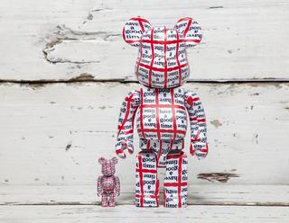 x have a good time Be@rbrick 100% + 400%