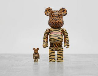 x atmos 'Animal Print' Bearbrick 100% + 400%