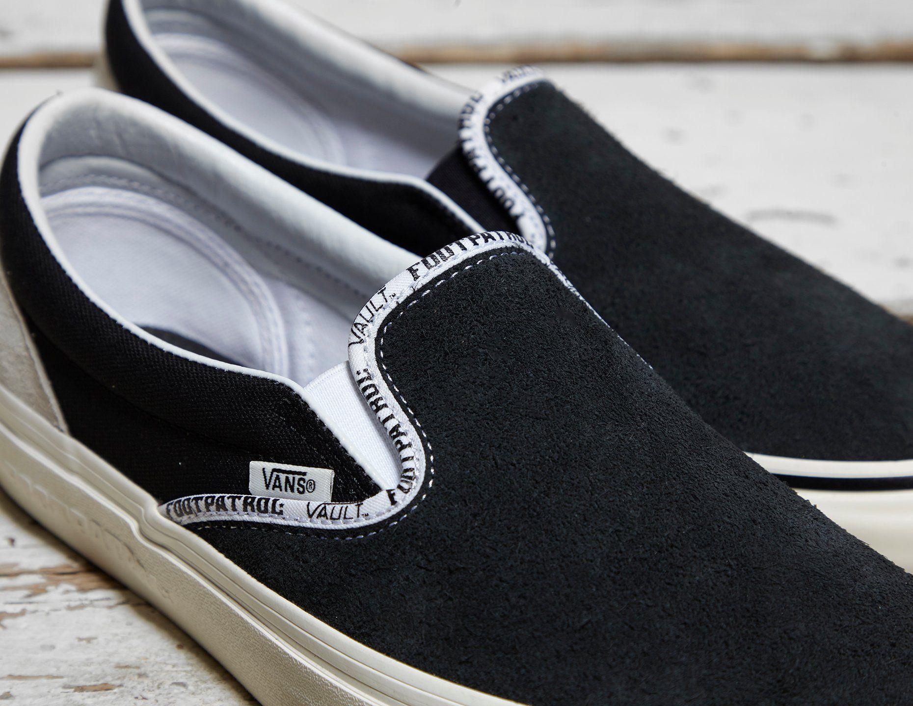 Vault by Vans x Footpatrol Slip-On LX