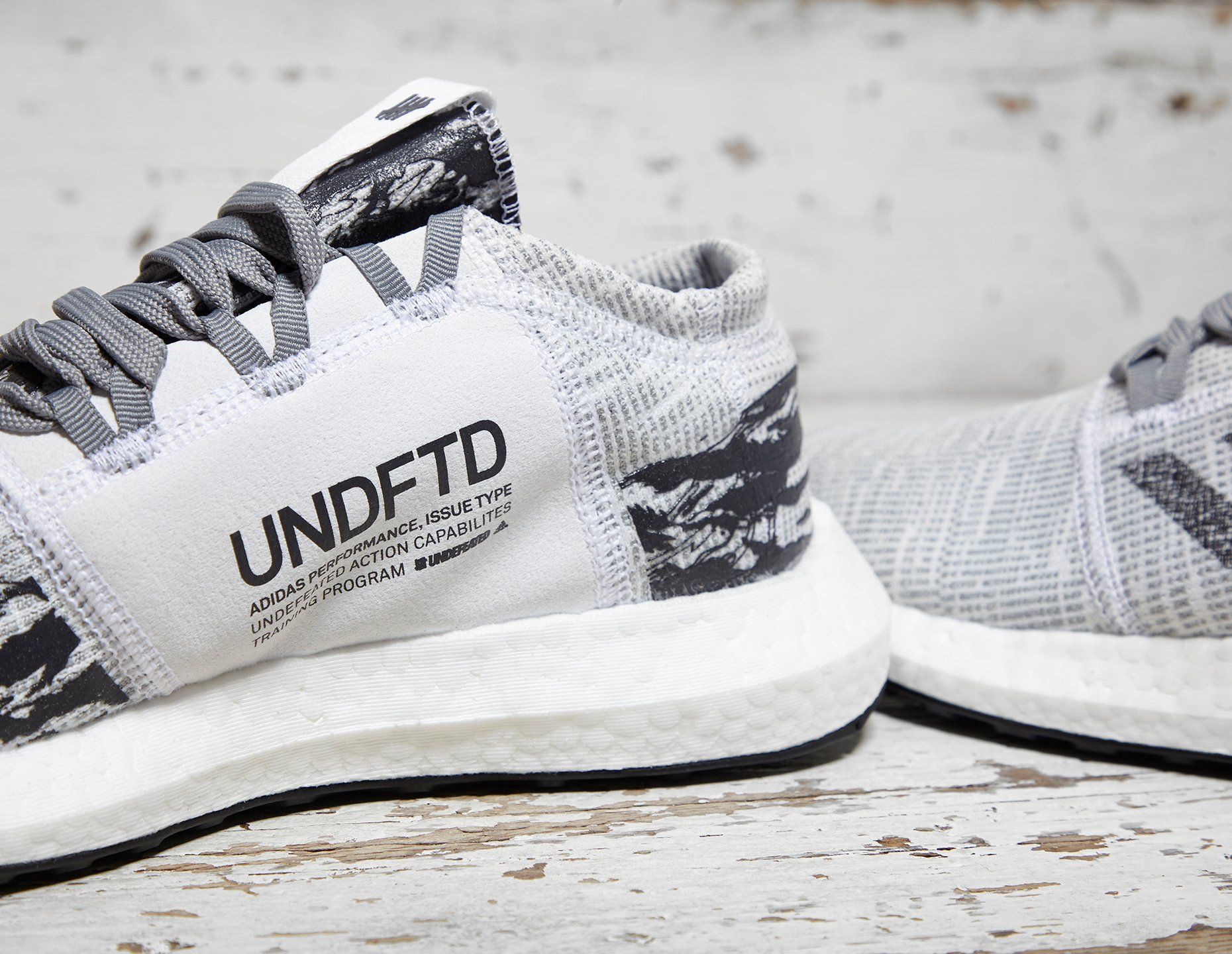 adidas x UNDEFEATED Pure Boost GO