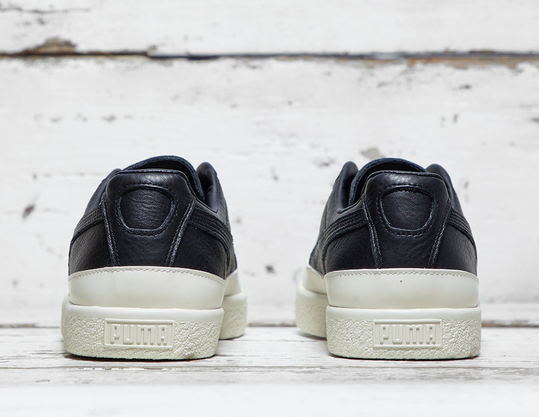 PUMA Clyde Rubbertoe Leather