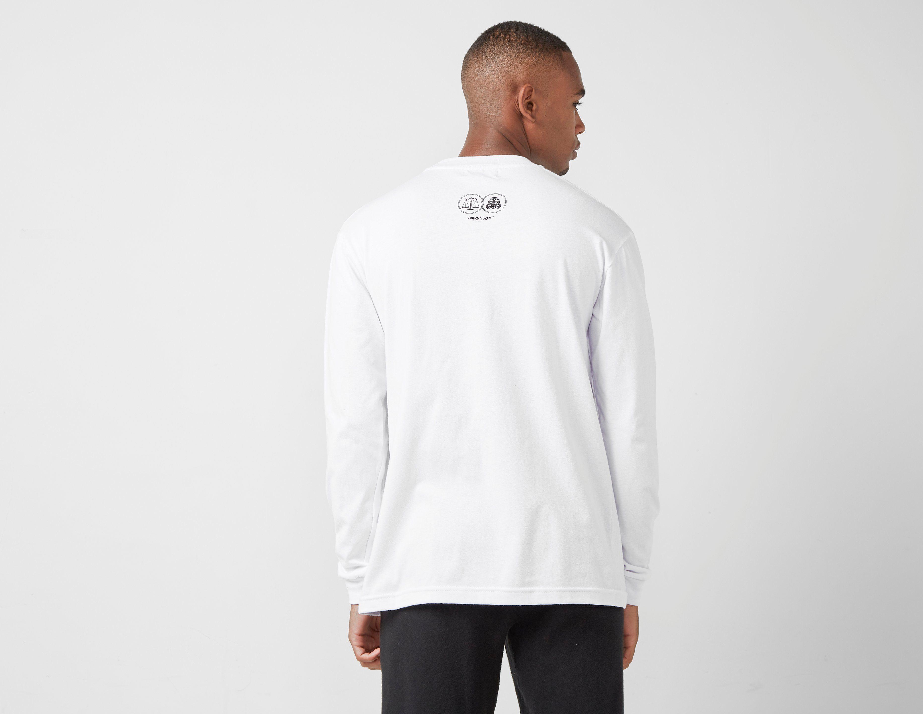 Footpatrol x Highs and Lows x Reebok 'Rave' T-Shirt