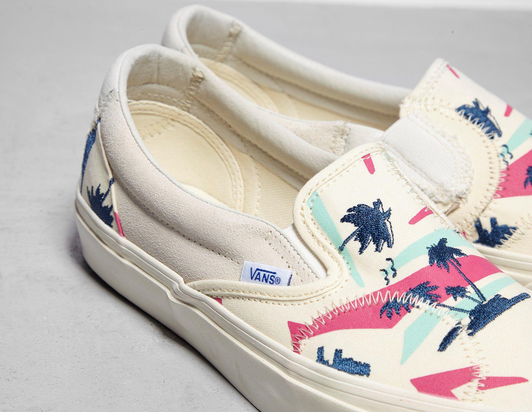 Vans Slip On Bricolage LX 'Embroidered Palm'