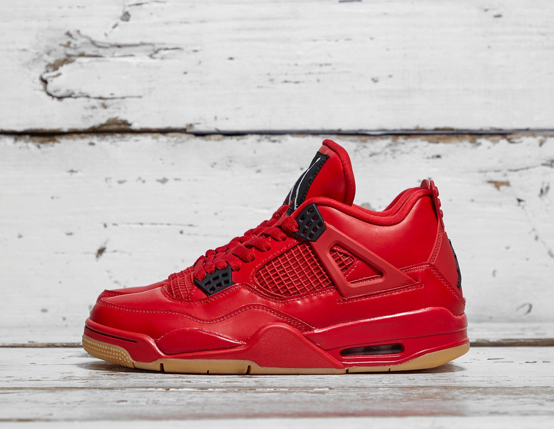 Womens Jordan Air 4 Retro Women s - Red cbe676a434
