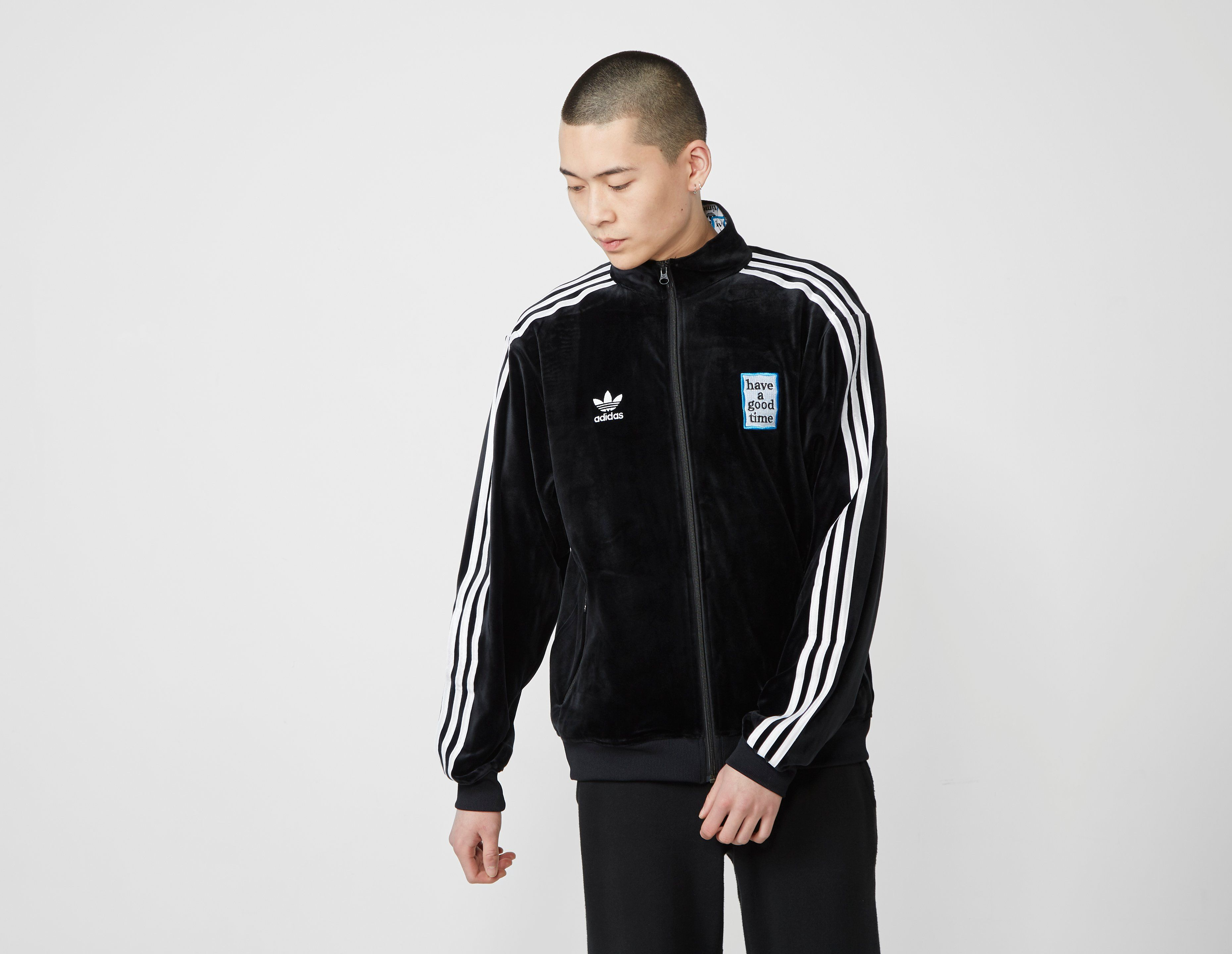 adidas Originals x Have A Good Time Velour Track Top