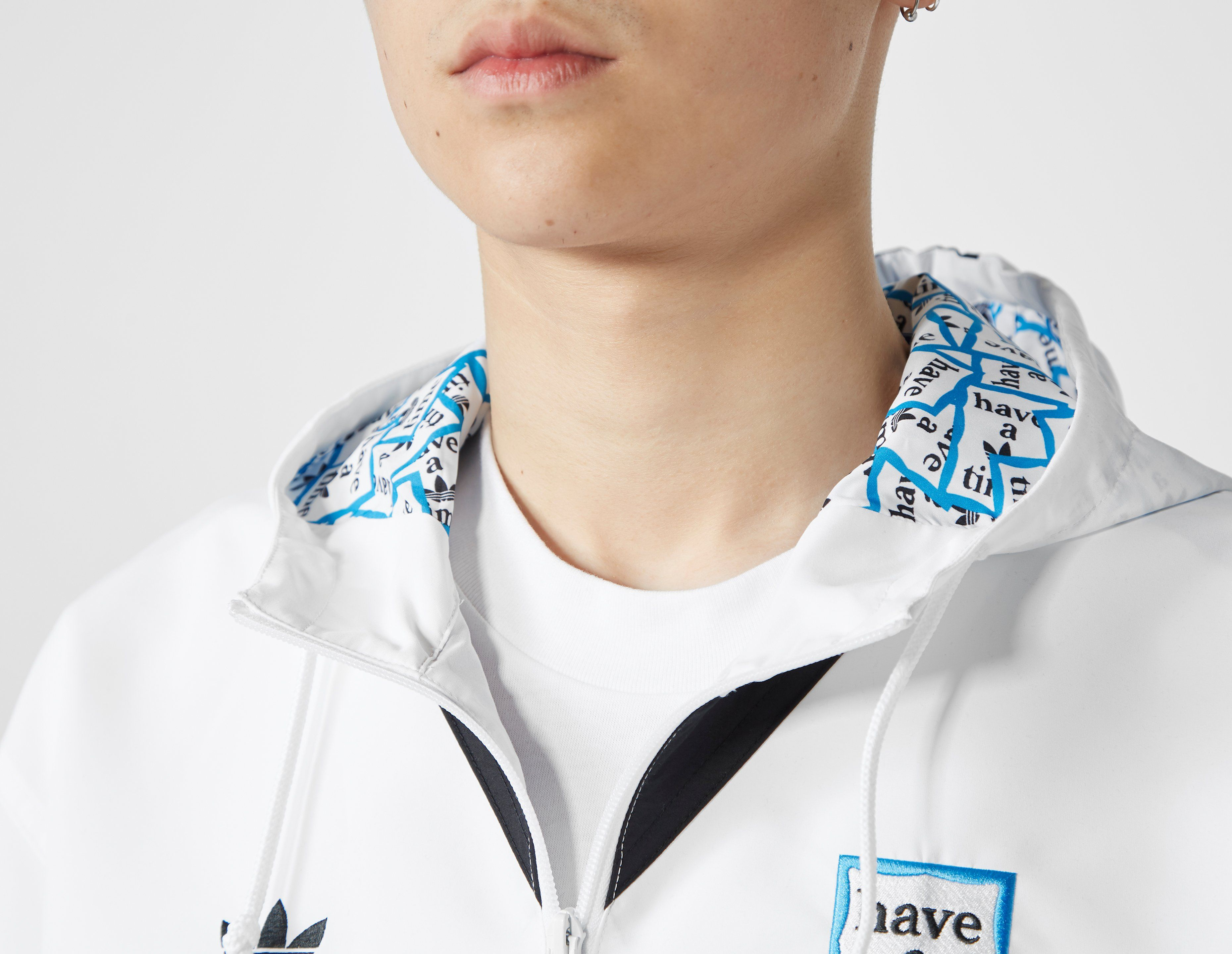 adidas Originals x Have a Good Time Half-Zip Pullover Windbreaker