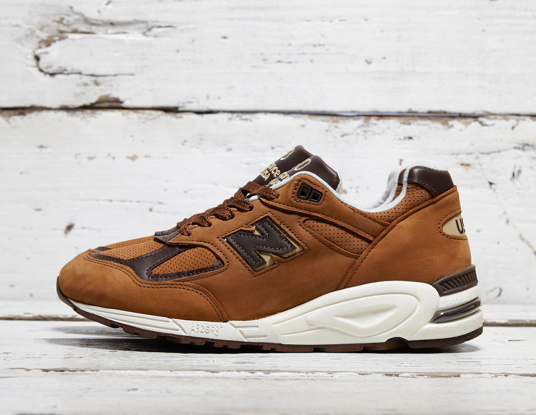 Mens <strong>New</strong> <strong>Balance</strong> <strong>990</strong> 'Made in US' - Brown, Brown - photo 1/1