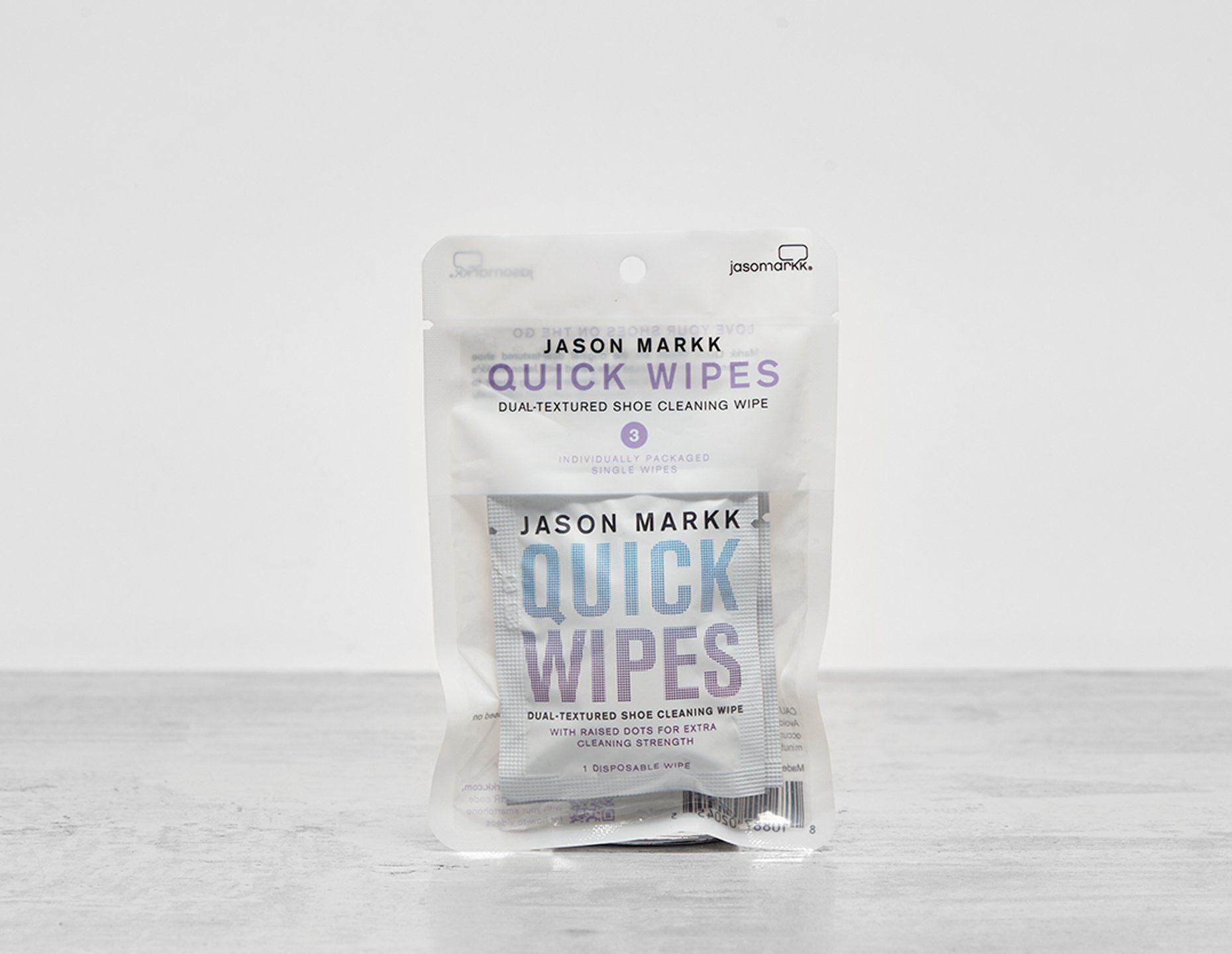 Jason Markk Quick Wipes 3 Pack