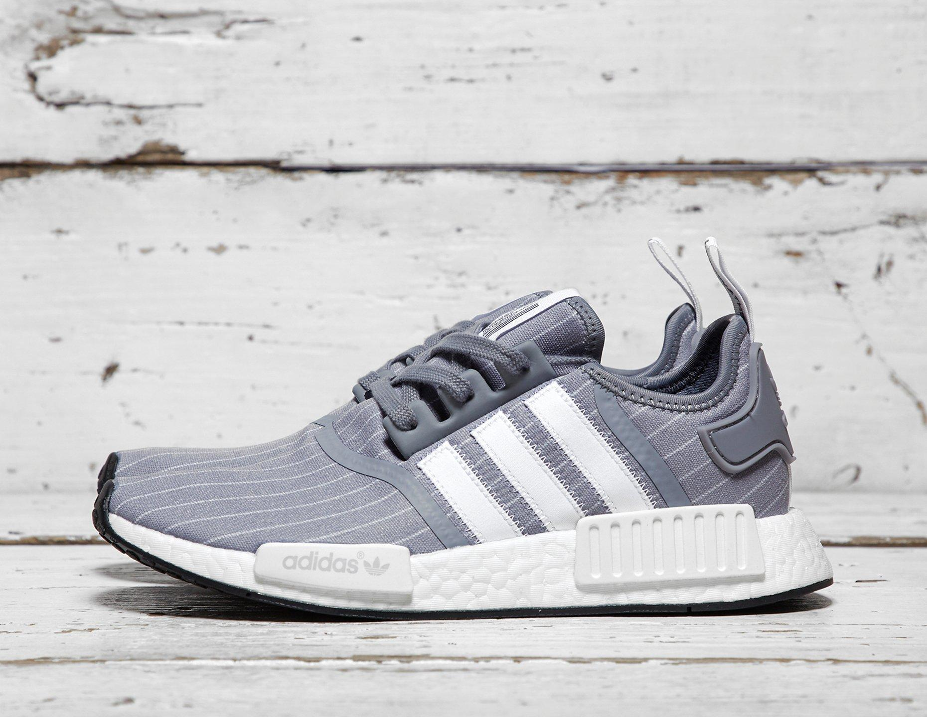 Mens adidas x Bedwin The Heartbreakers NMD_R1 - Grey, Grey - photo 1/1