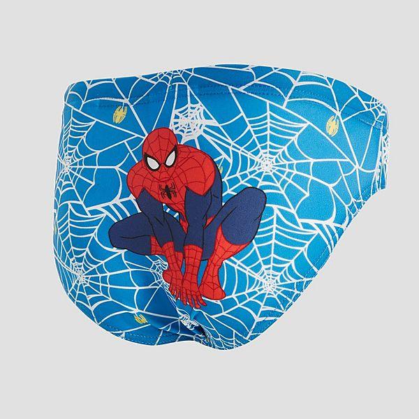 a44e5530e5 Arena Marvel Spiderman Junior Swimming Briefs | activinstinct