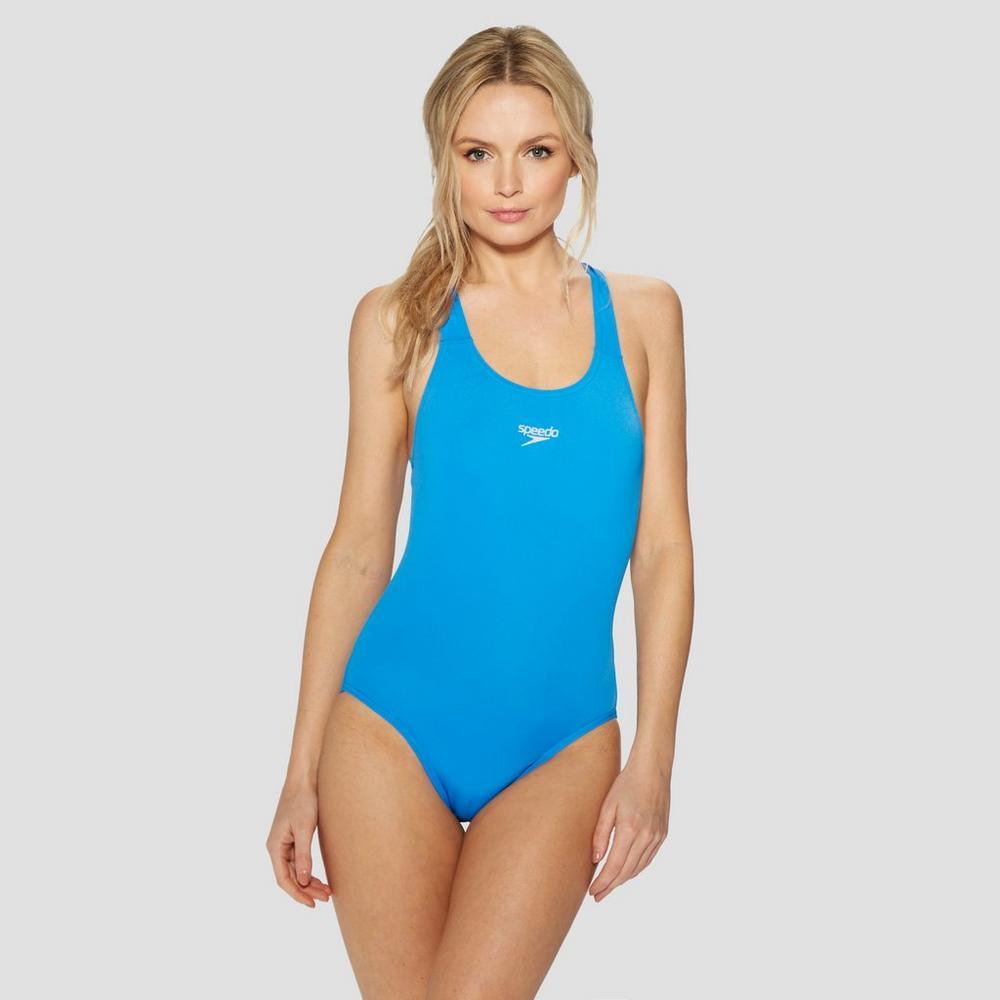 1da20ba41 Speedo Womens Endurance Medalist Costume Neon Blue 36 for sale ...