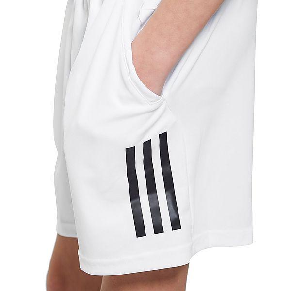 adidas Three Stripe Junior Tennis Shorts