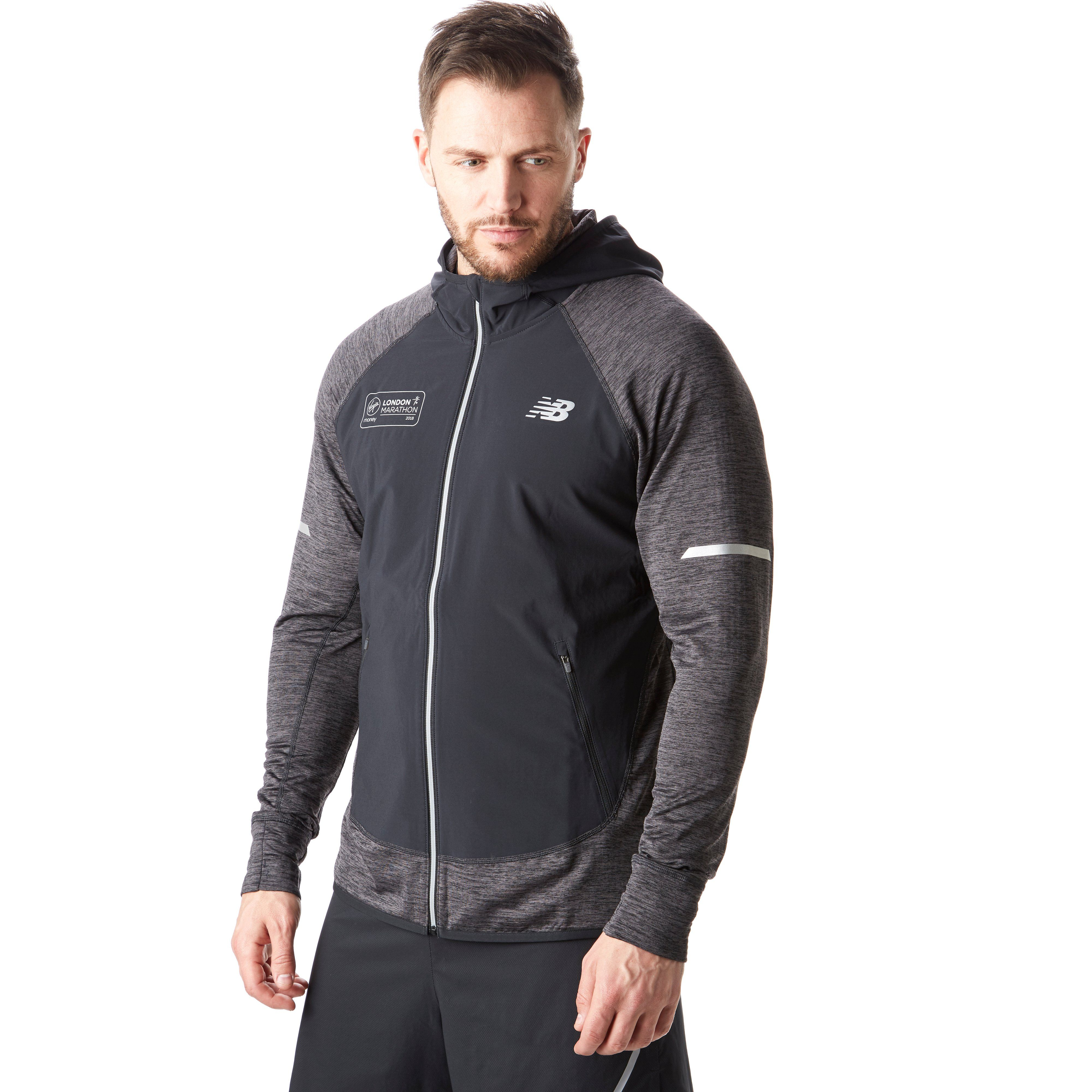 New Balance London Marathon Edition Q Speed Men S Running Jacket