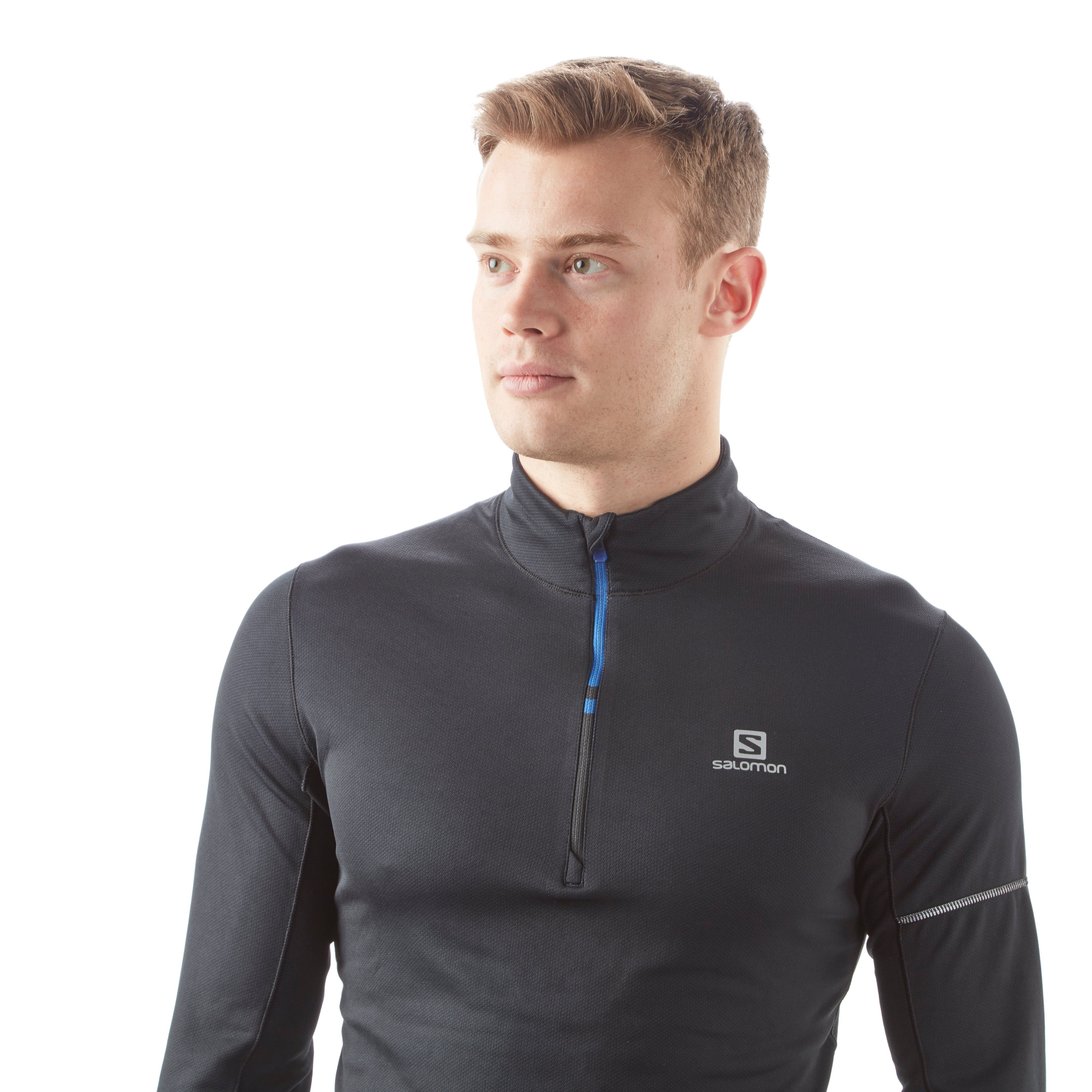 Salomon Agile HZ Mid-Layer Men's trail Running Top