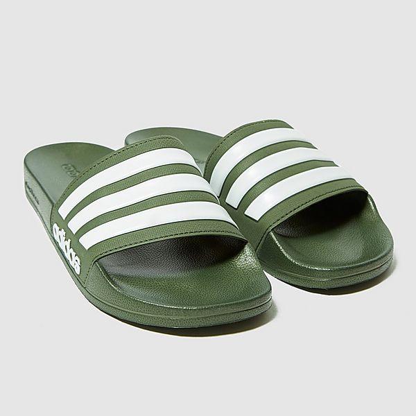 best service 729ef bcf52 adidas Adilette Cloudfoam Mens Slide Sandals