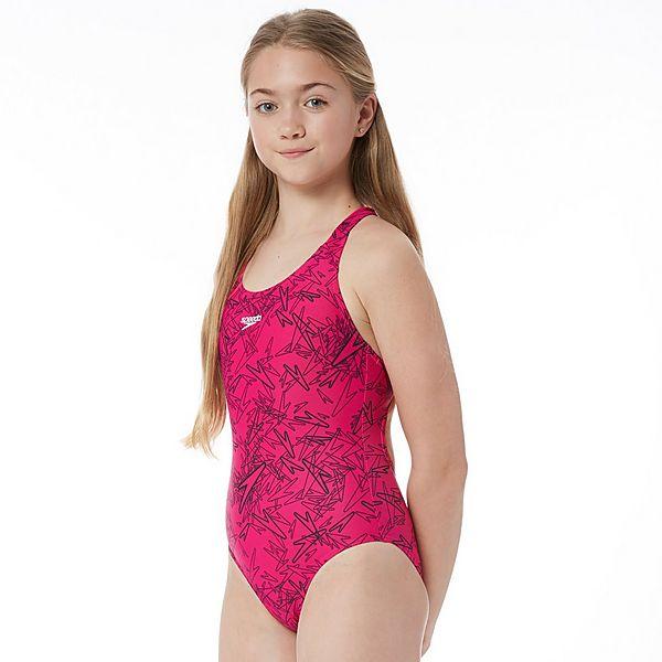 87d73500de592 Speedo Boom Allover Splashback Junior Swimsuit   activinstinct