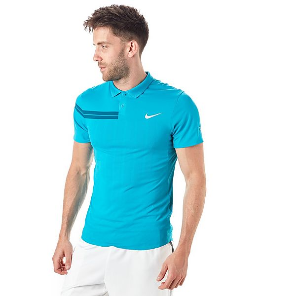 the latest b0f80 f2323 Nike Court Advantage RF Mens Tennis Polo T-Shirt