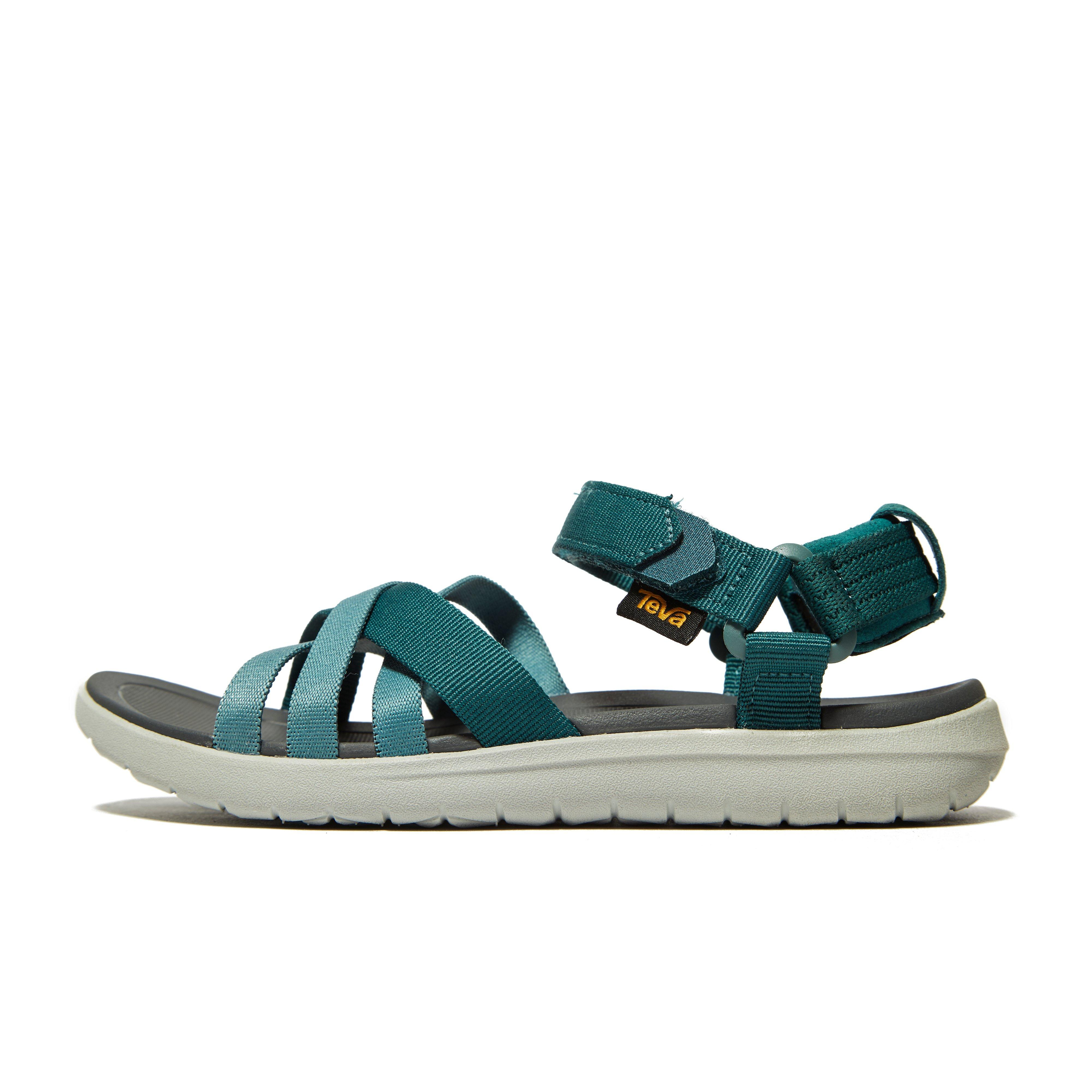 4221ece60616 Details about New Teva Sanborn Women s Walking Outdoor Footwear Sandals Teal