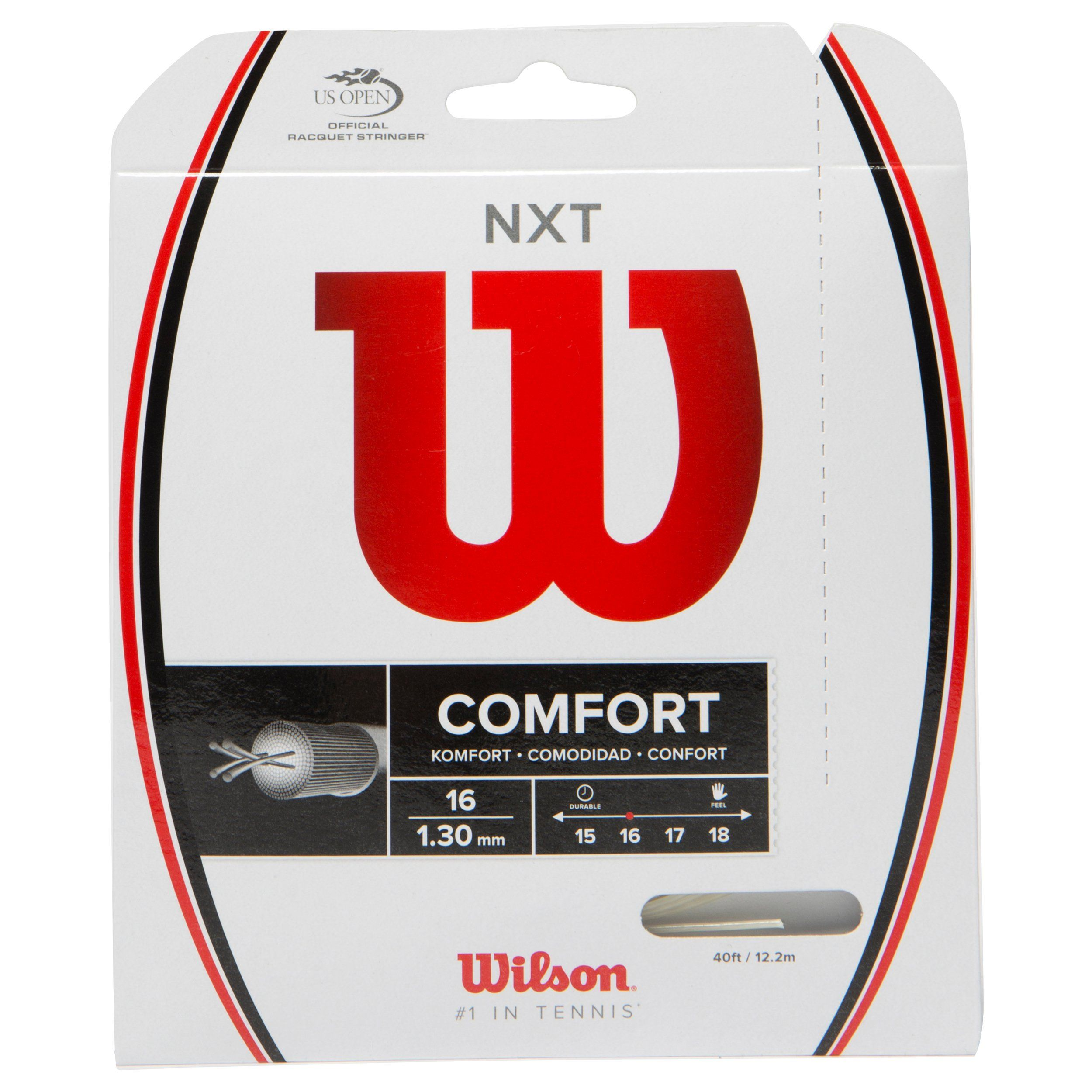 Wilson NXT Comfort String – 1.30mm (Natural) 12.2m Packet