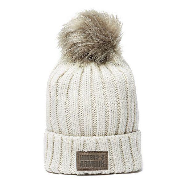 Under Armour Snowcrest Pom Women s Beanie Hat  c39e423177f