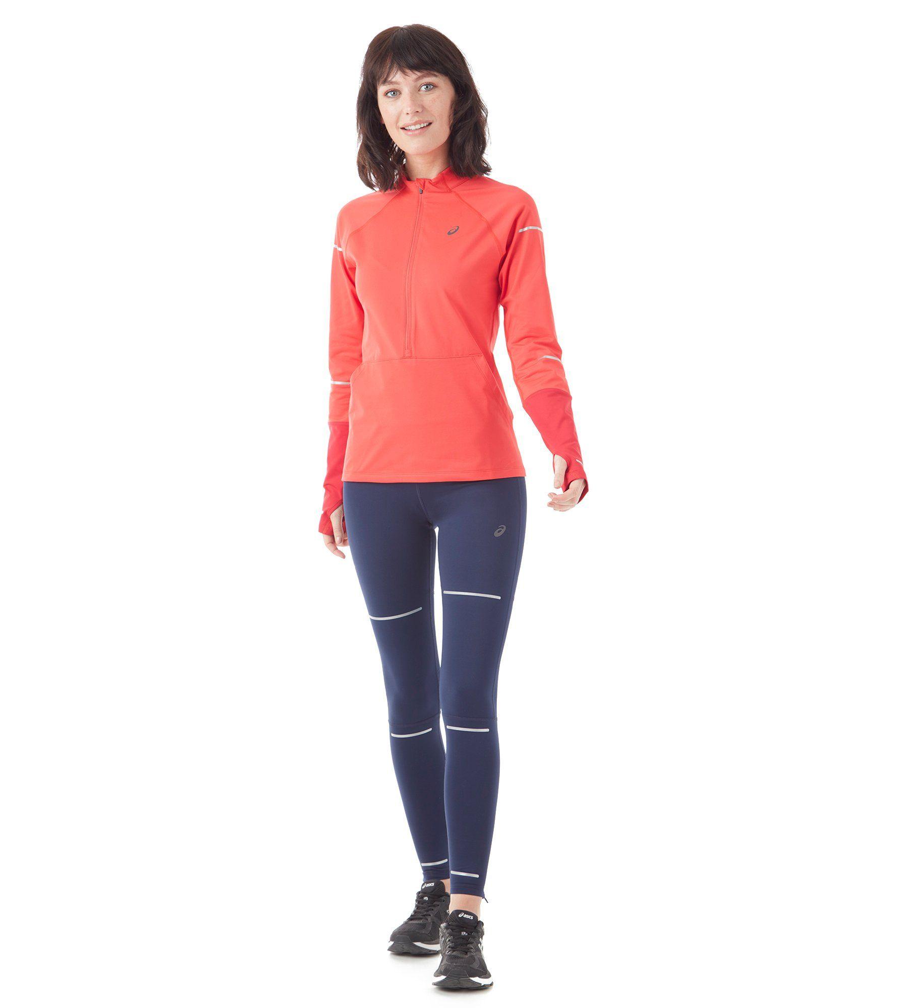 ASICS Lite-Show Winter Long Sleeve ½ Zip Women's Top