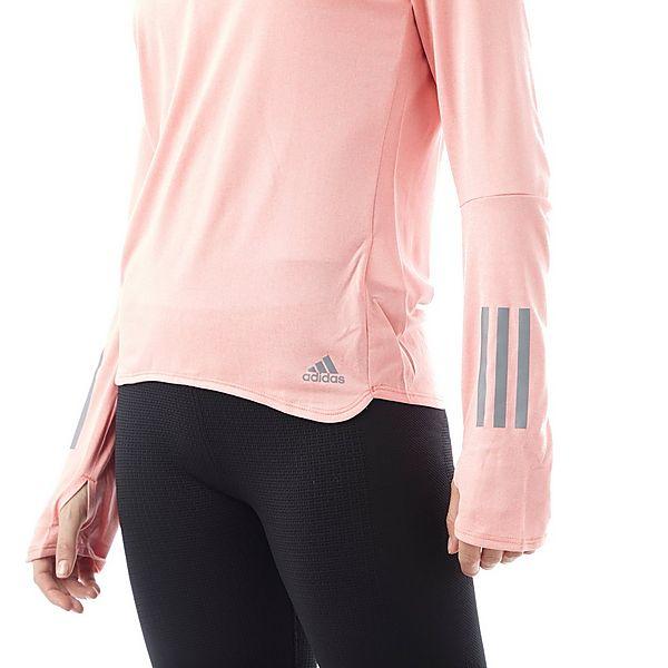 adidas Response Long Sleeve ½ zip Women's Running Top