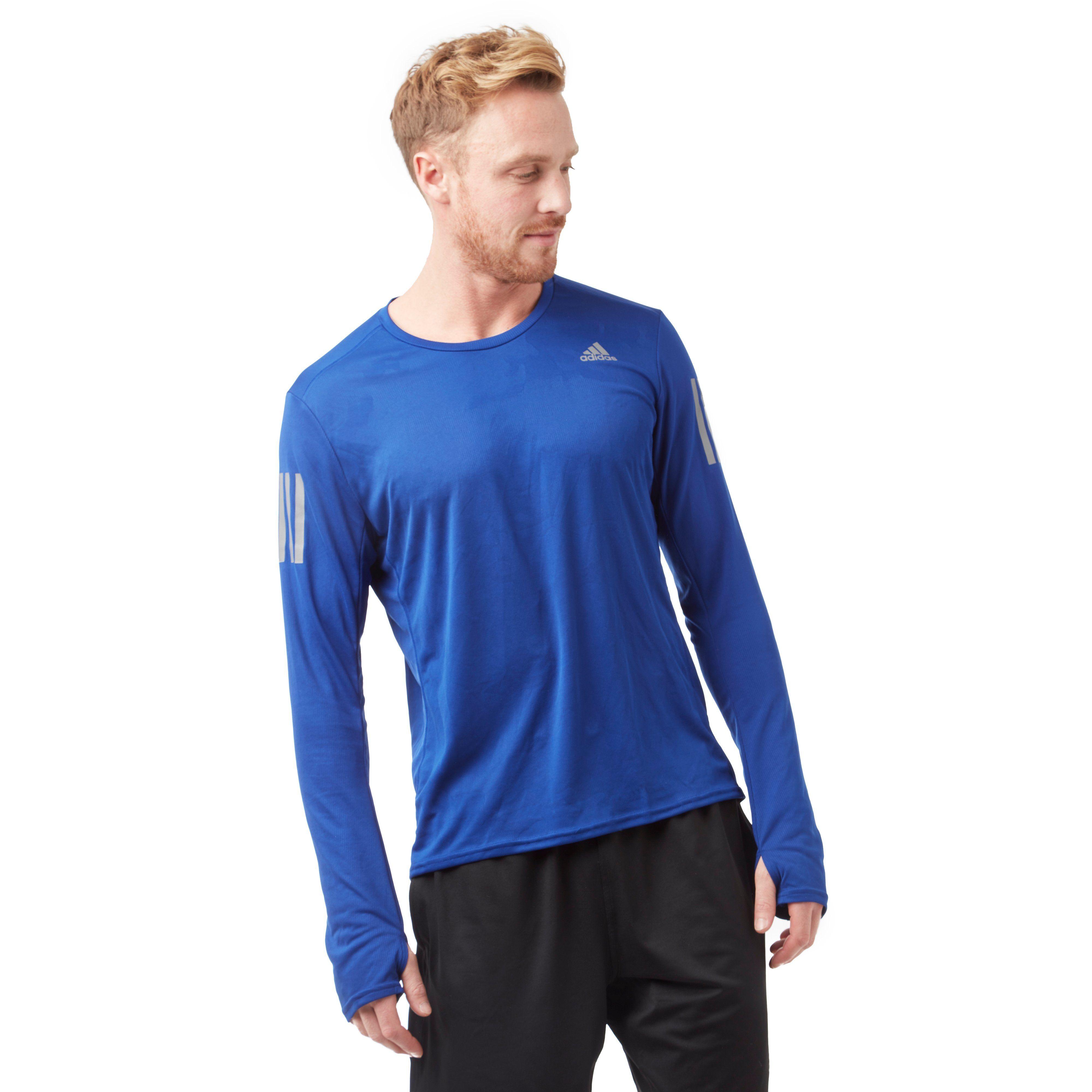 adidas Response Long Sleeve Men's Running T-Shirt