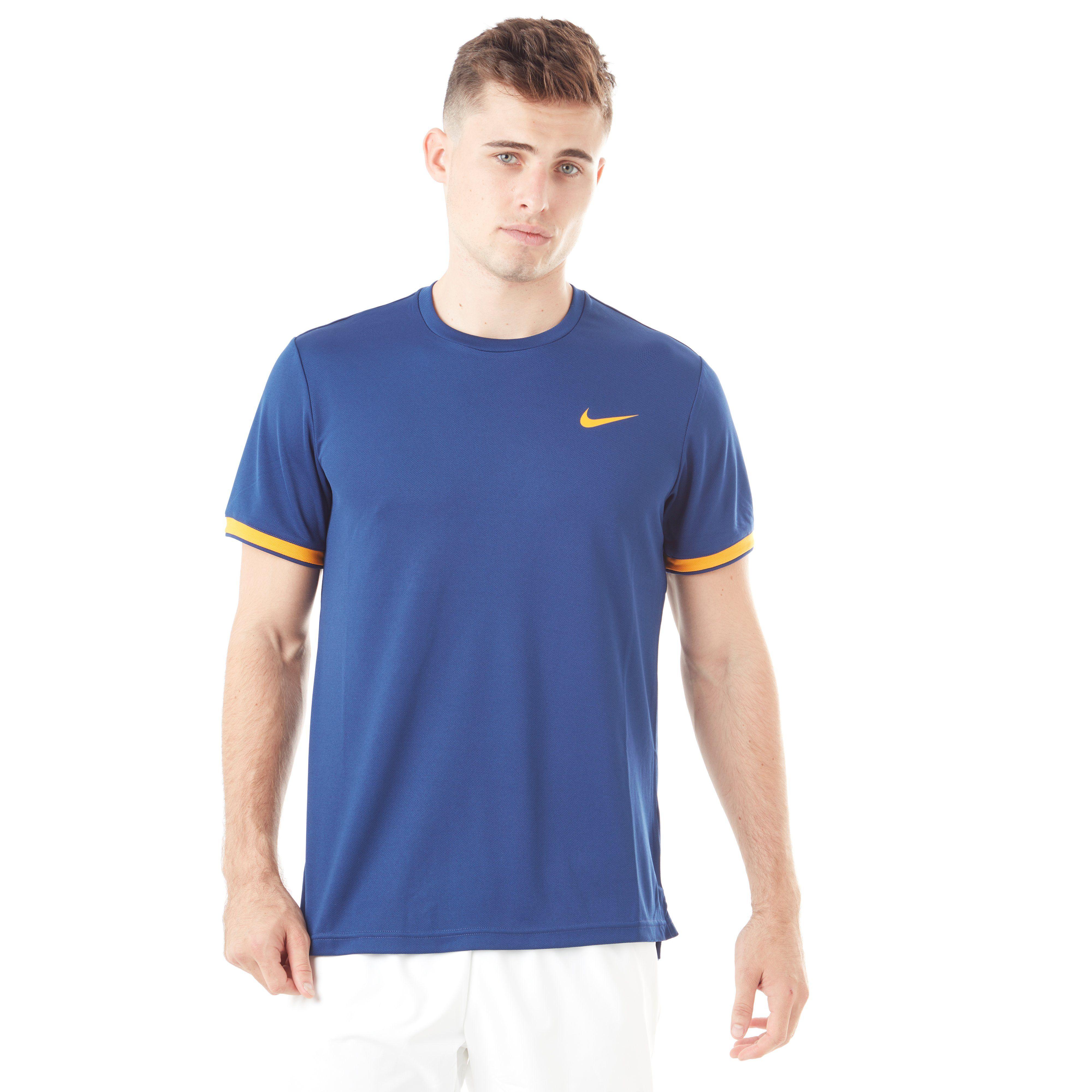 Nike Court Dry Short Sleeve Men's Tennis T-Shirt
